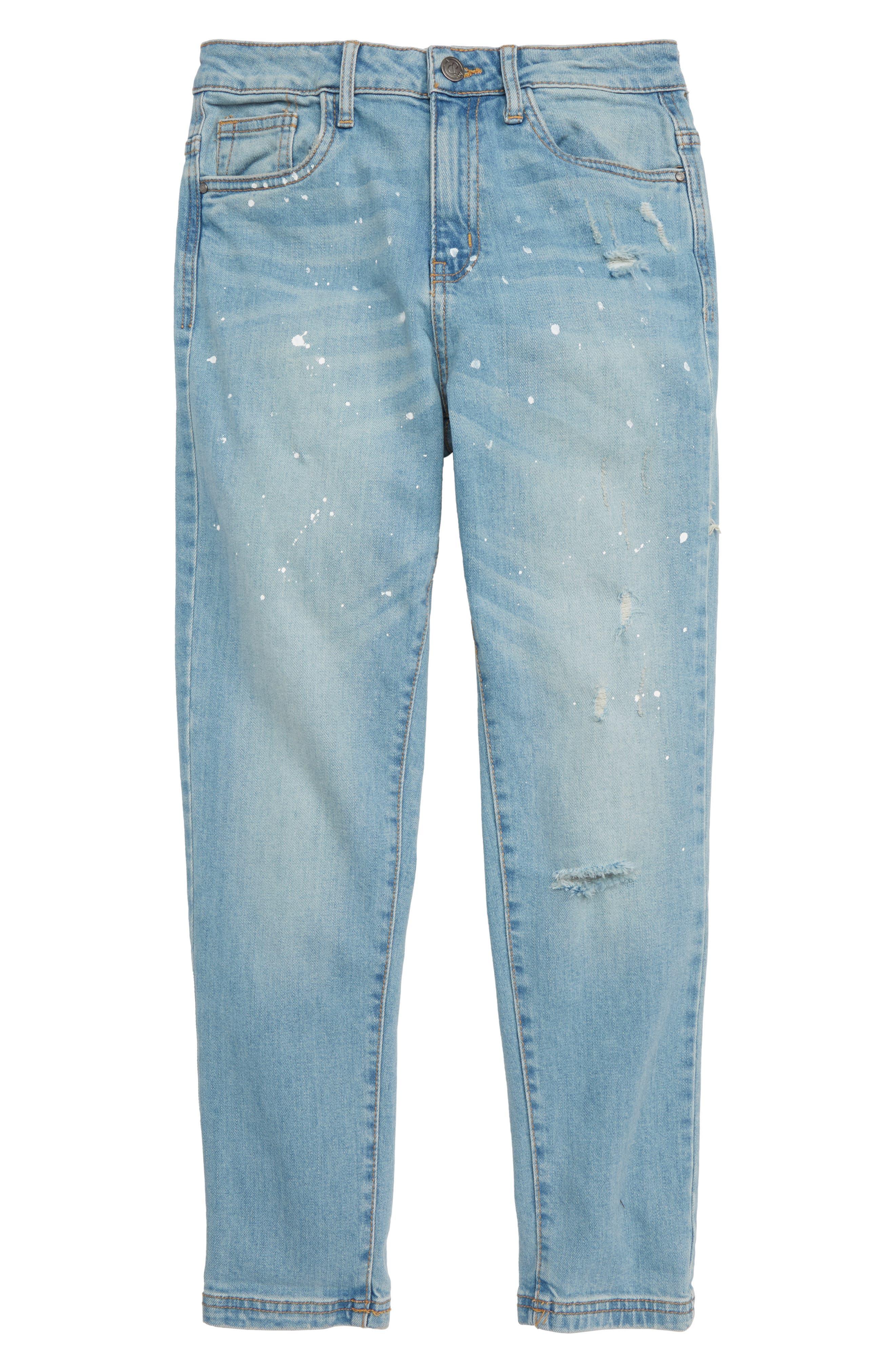 High Waist Mum Jeans,                         Main,                         color, RAPIDS WASH