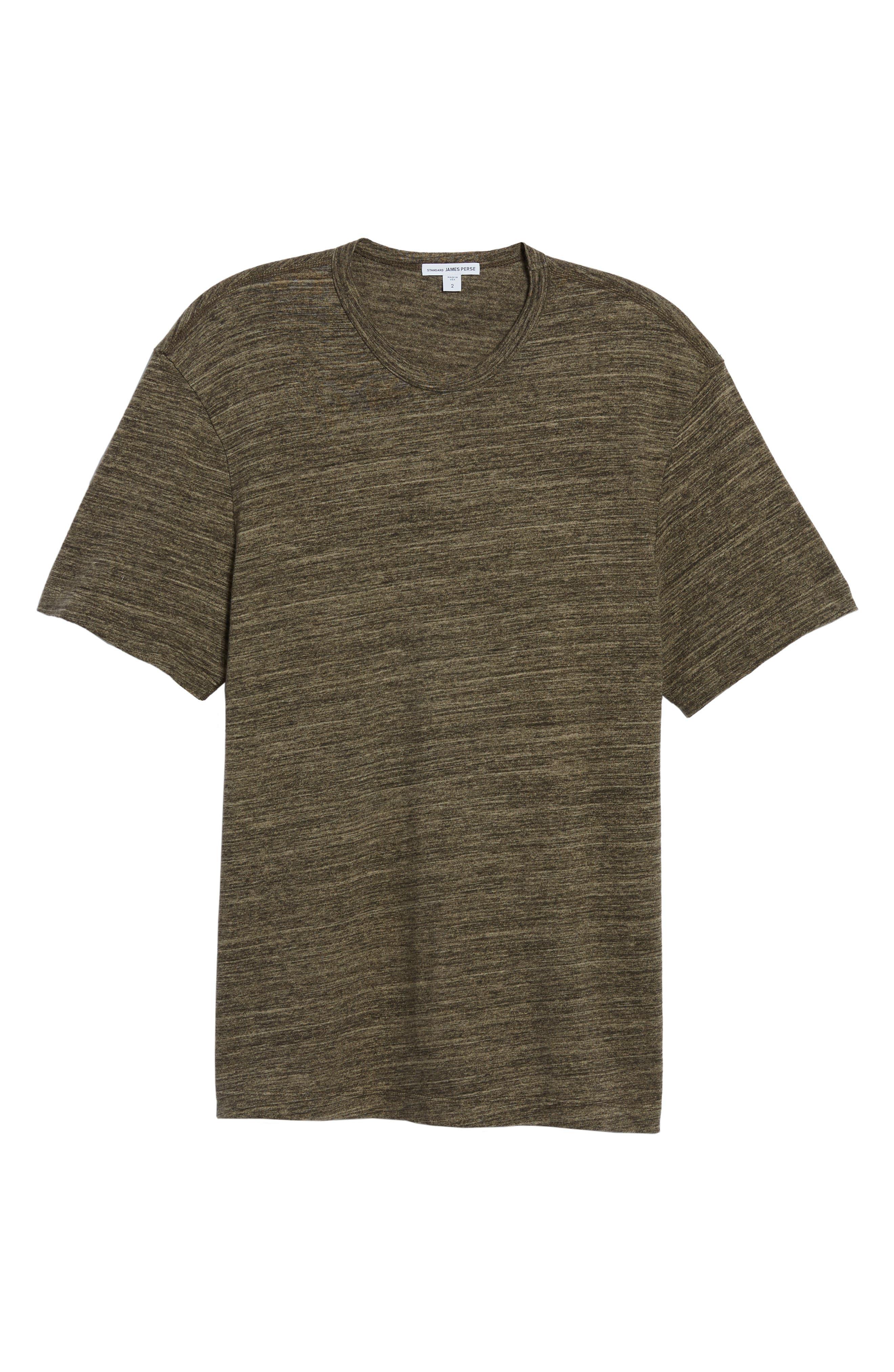 Regular Fit Top Dyed Crewneck T-Shirt,                             Alternate thumbnail 18, color,