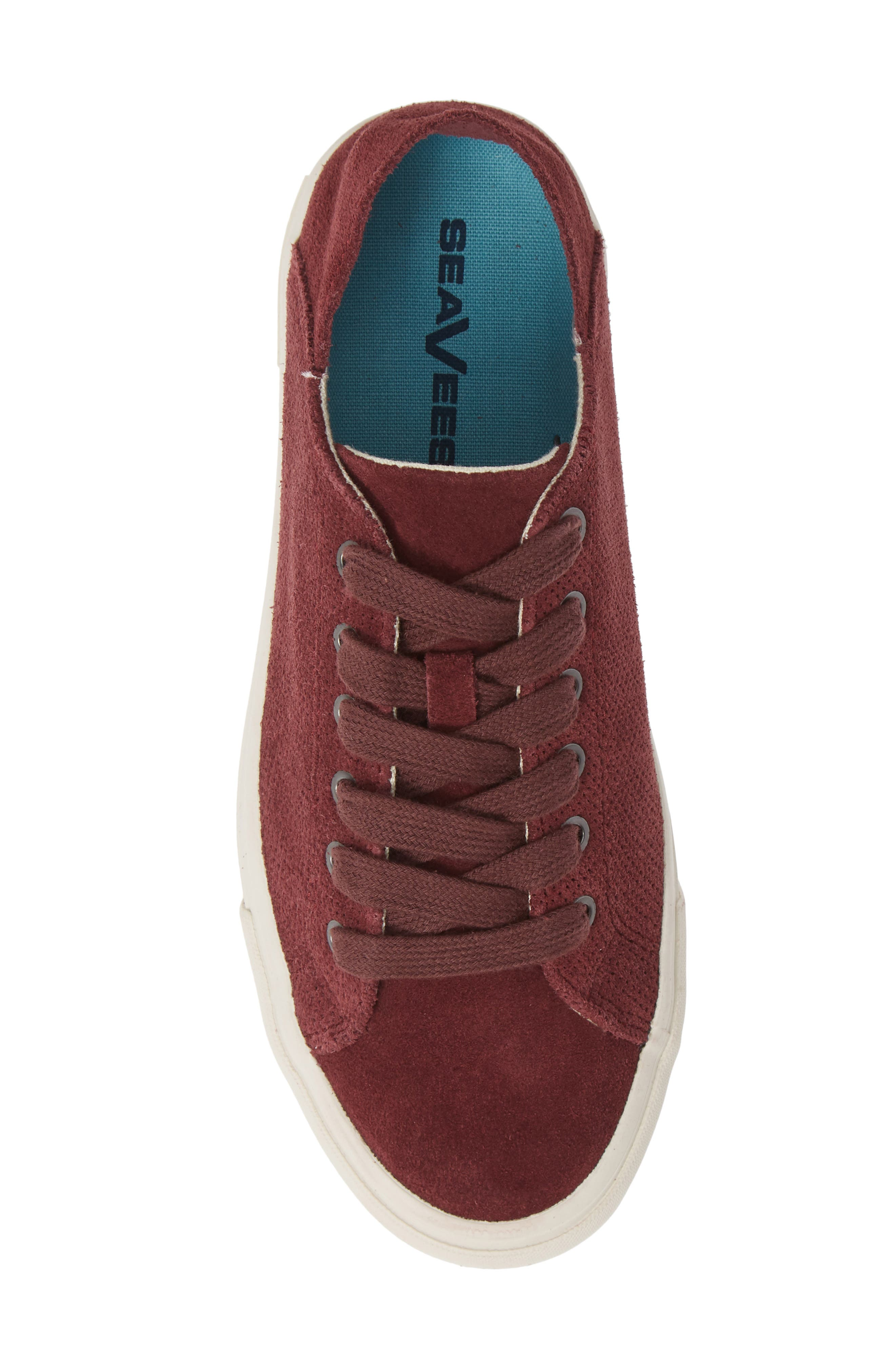 Sausalito Sneaker,                             Alternate thumbnail 5, color,                             WINE