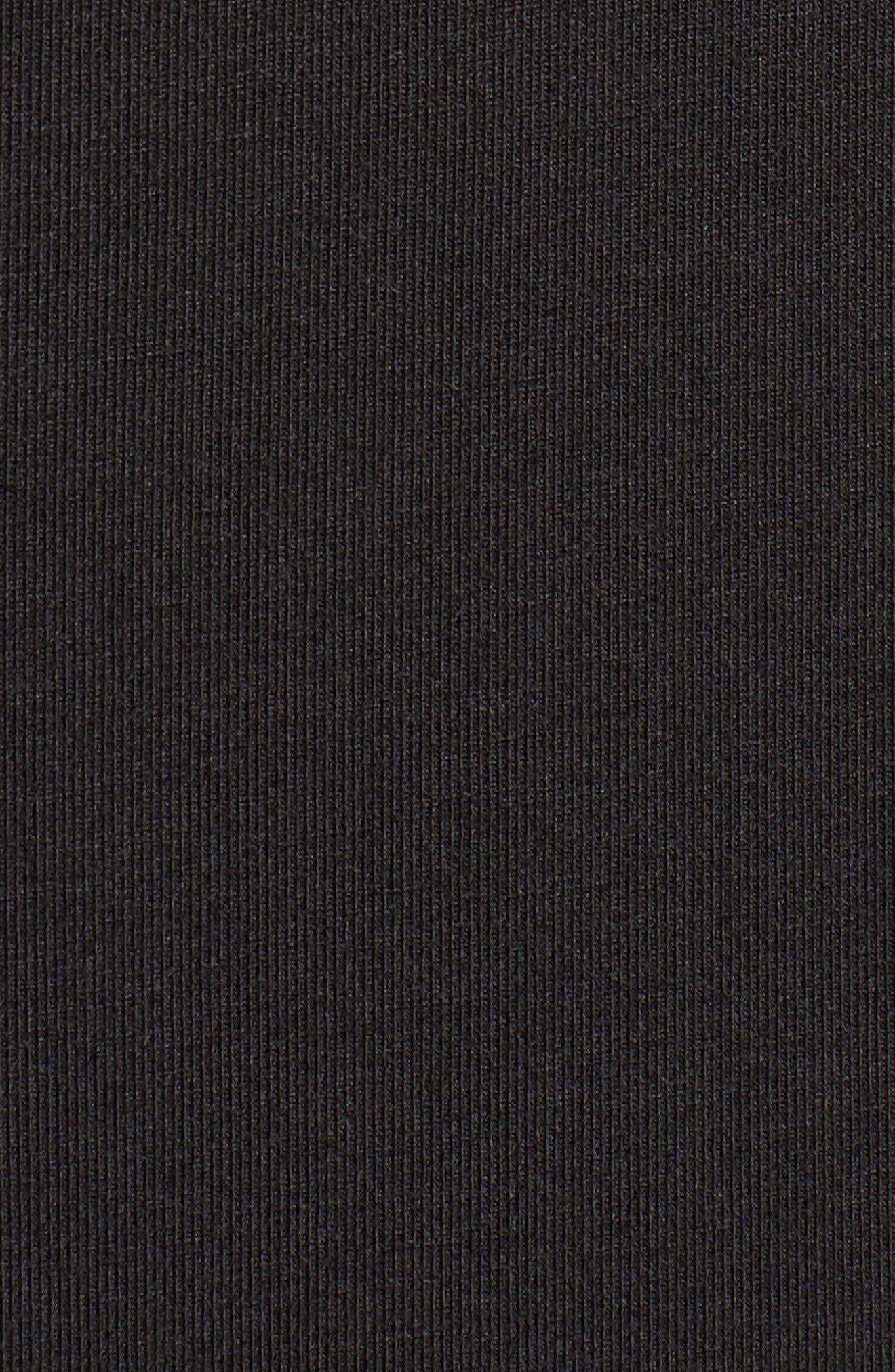 Tambour Shift Dress,                             Alternate thumbnail 5, color,                             001