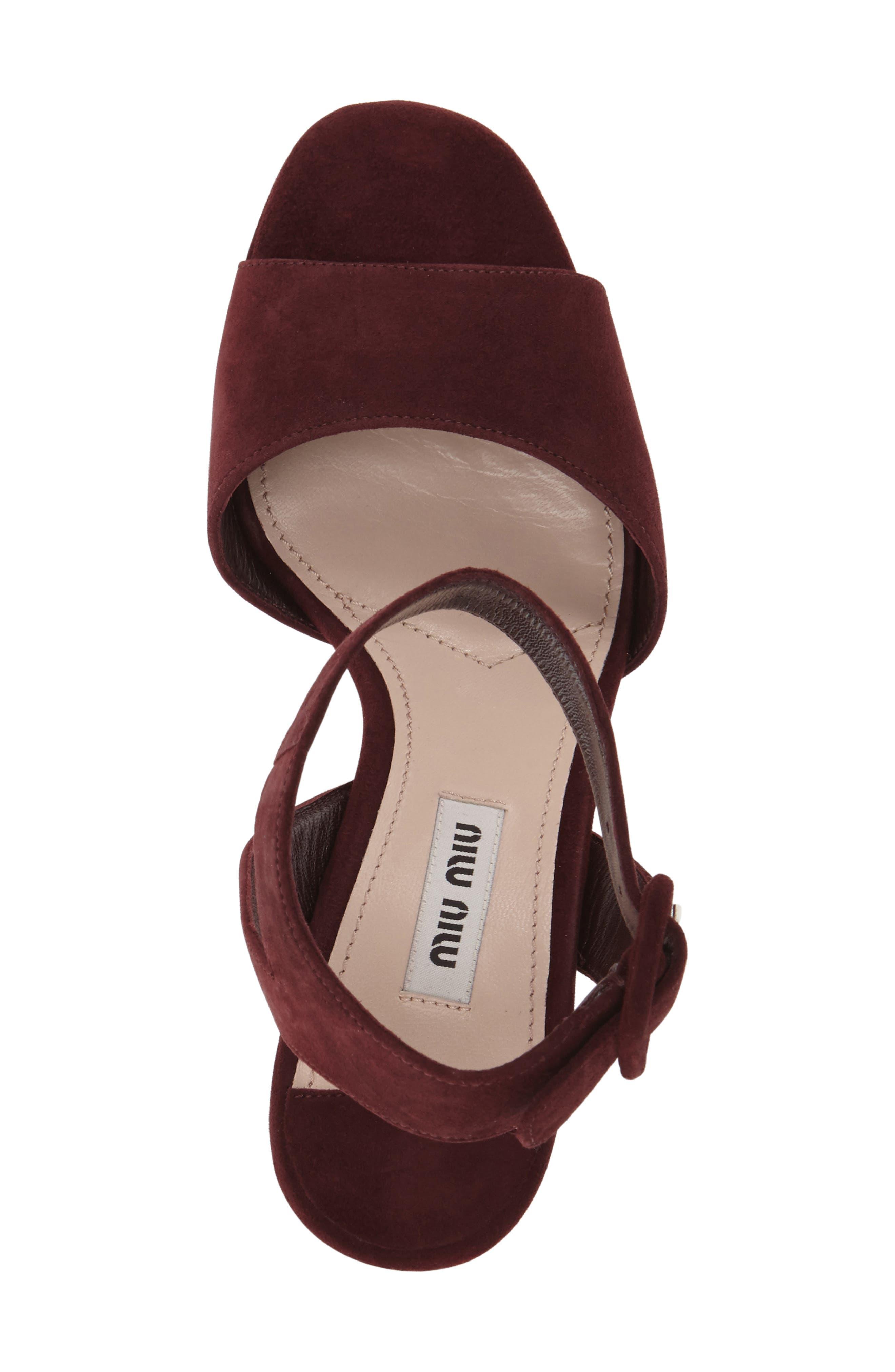 'Sandali' Ankle Strap Sandal,                             Alternate thumbnail 8, color,