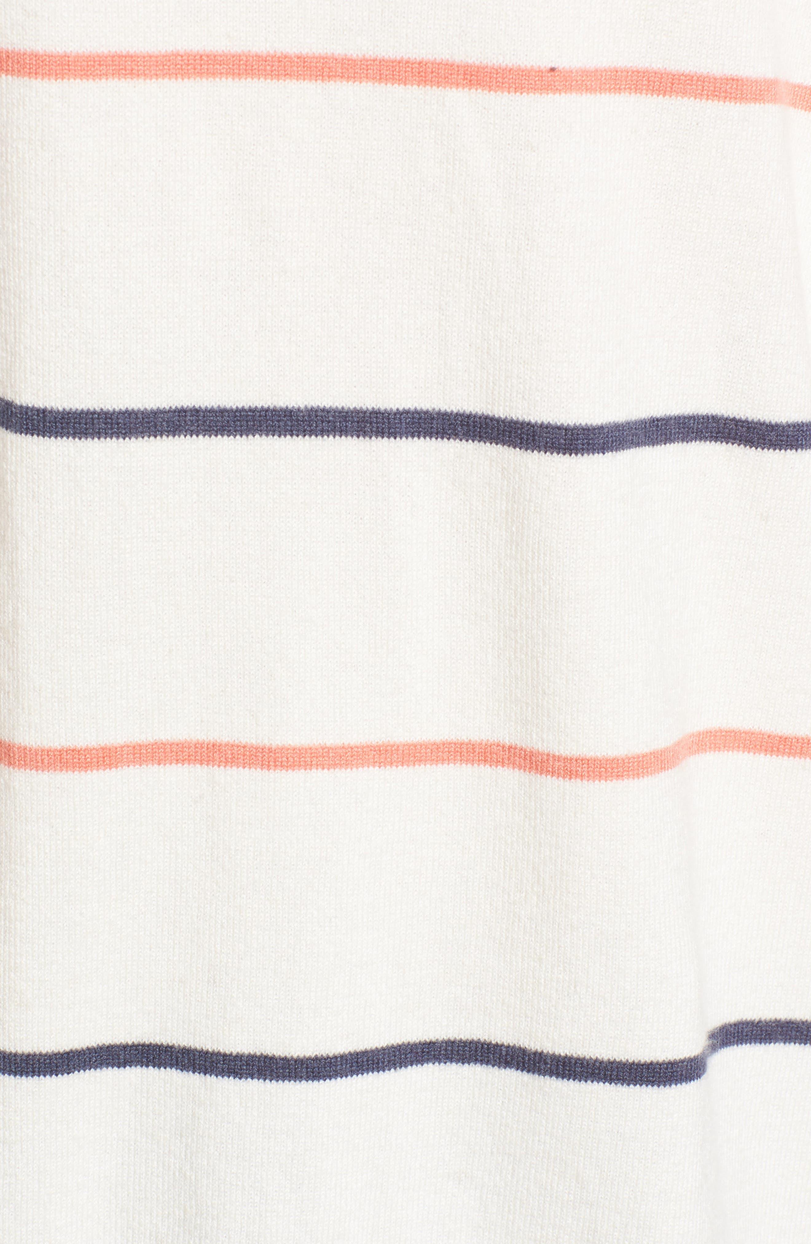 Cascada Stripe Sweater,                             Alternate thumbnail 5, color,                             909