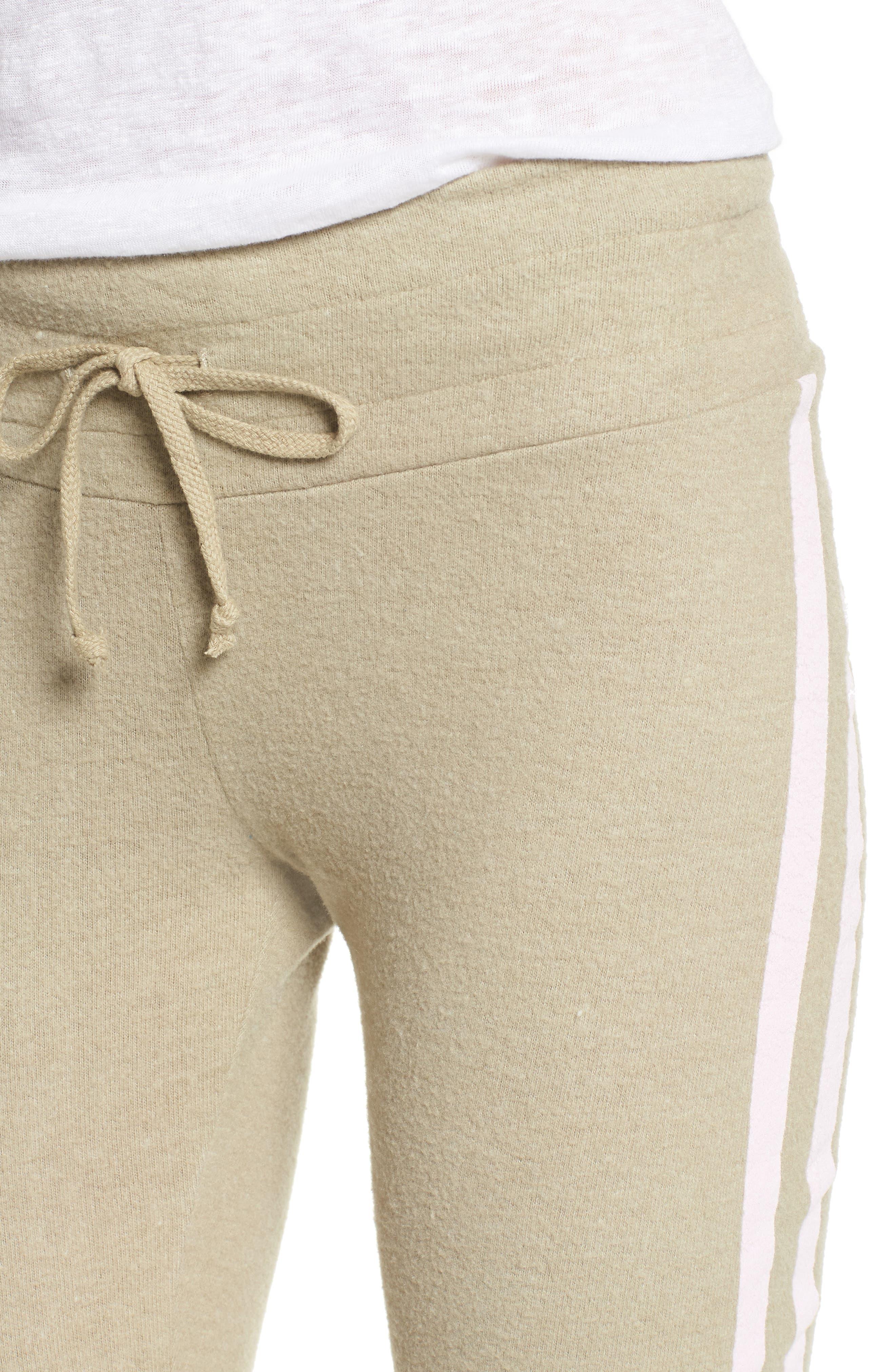 Sporty Stripe Track Pants,                             Alternate thumbnail 4, color,                             240