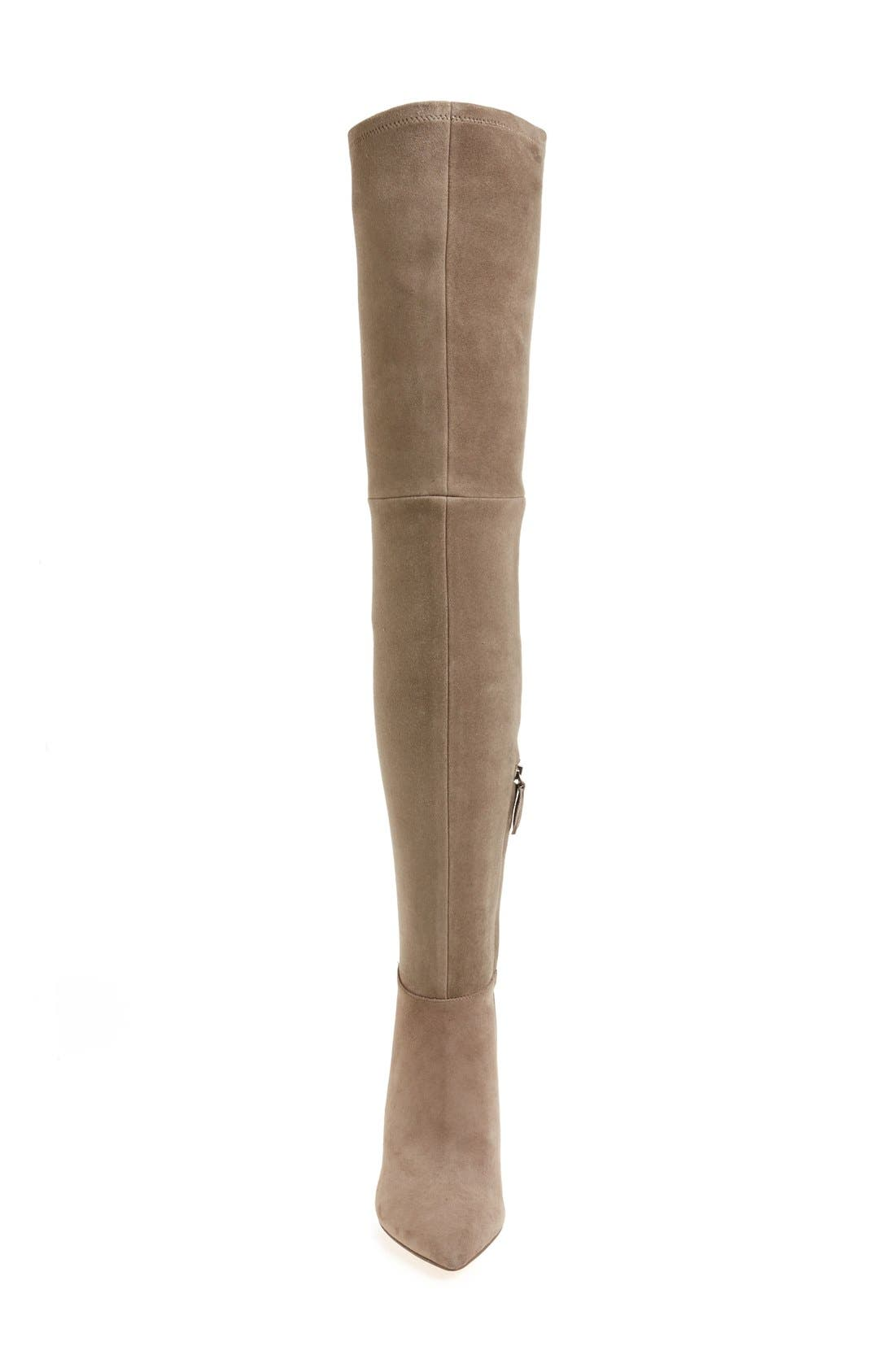 'Caterina' Over the Knee Boot,                             Alternate thumbnail 9, color,