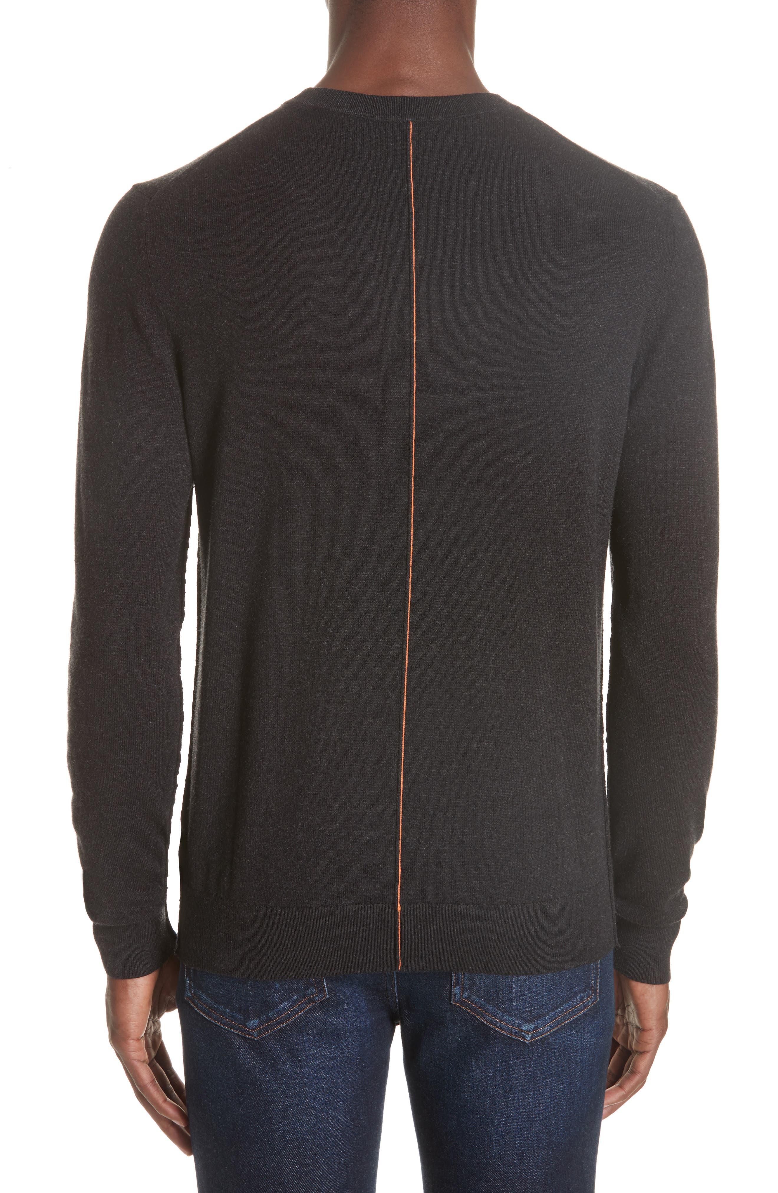 Crewneck Sweater,                             Alternate thumbnail 2, color,                             014