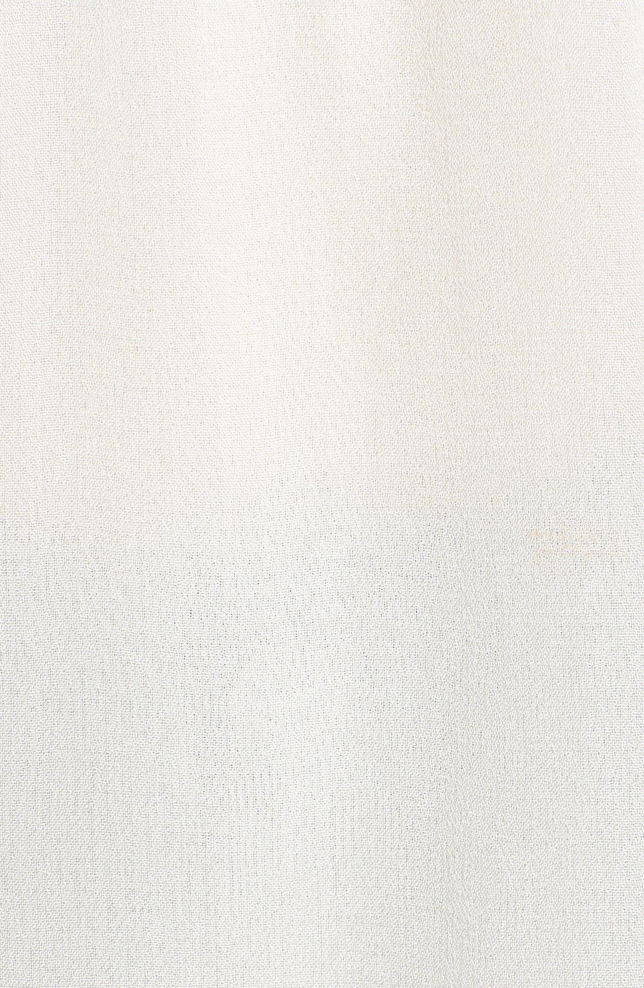 Ruffle Lace Top,                             Alternate thumbnail 5, color,                             900