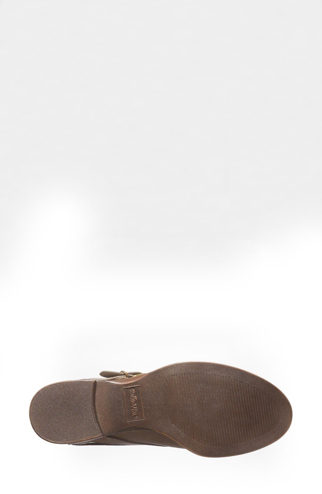 'Ronan' Buckle Leather Bootie,                             Alternate thumbnail 23, color,