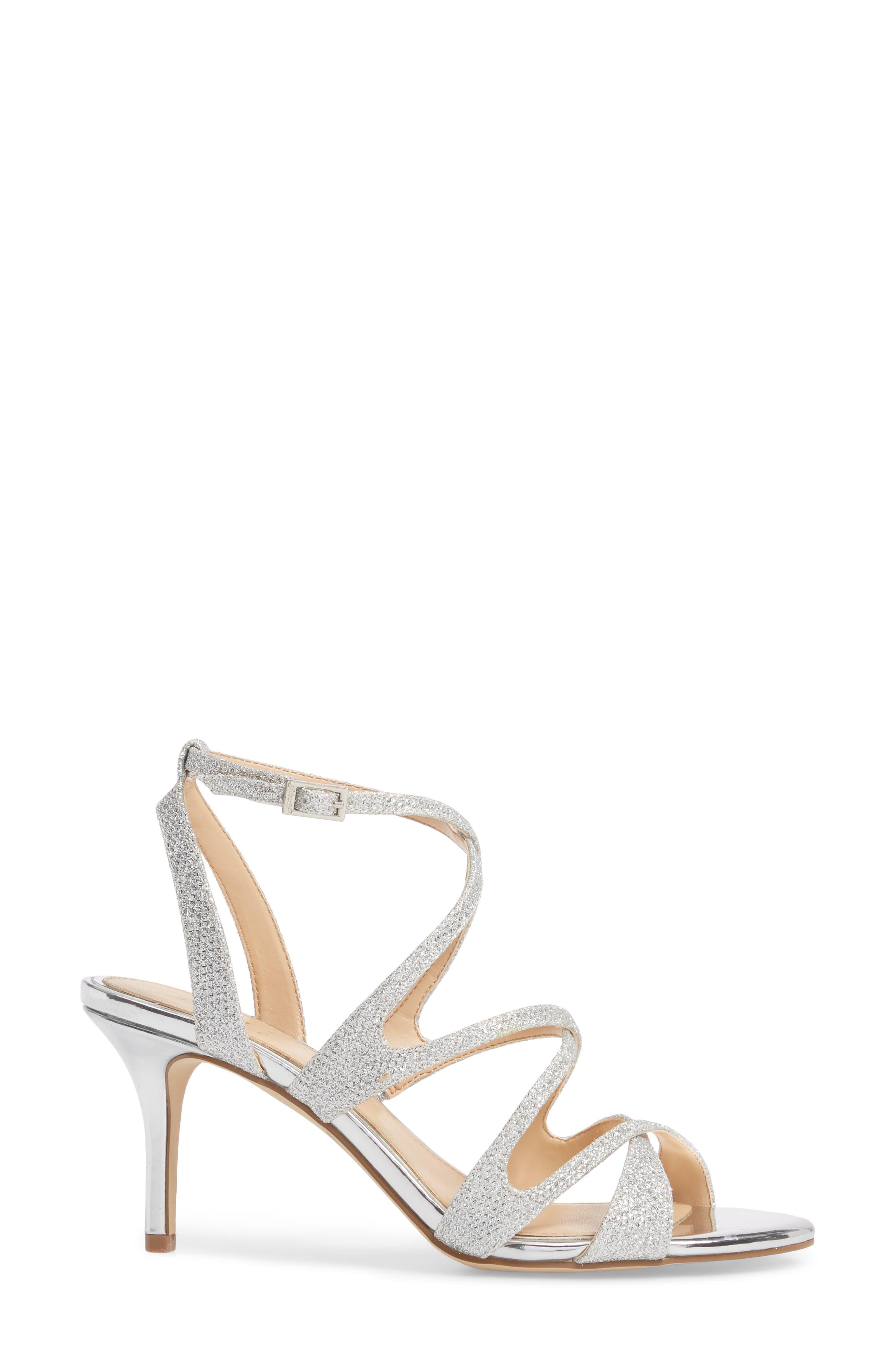 Tasha Glitter Sandal,                             Alternate thumbnail 3, color,                             043