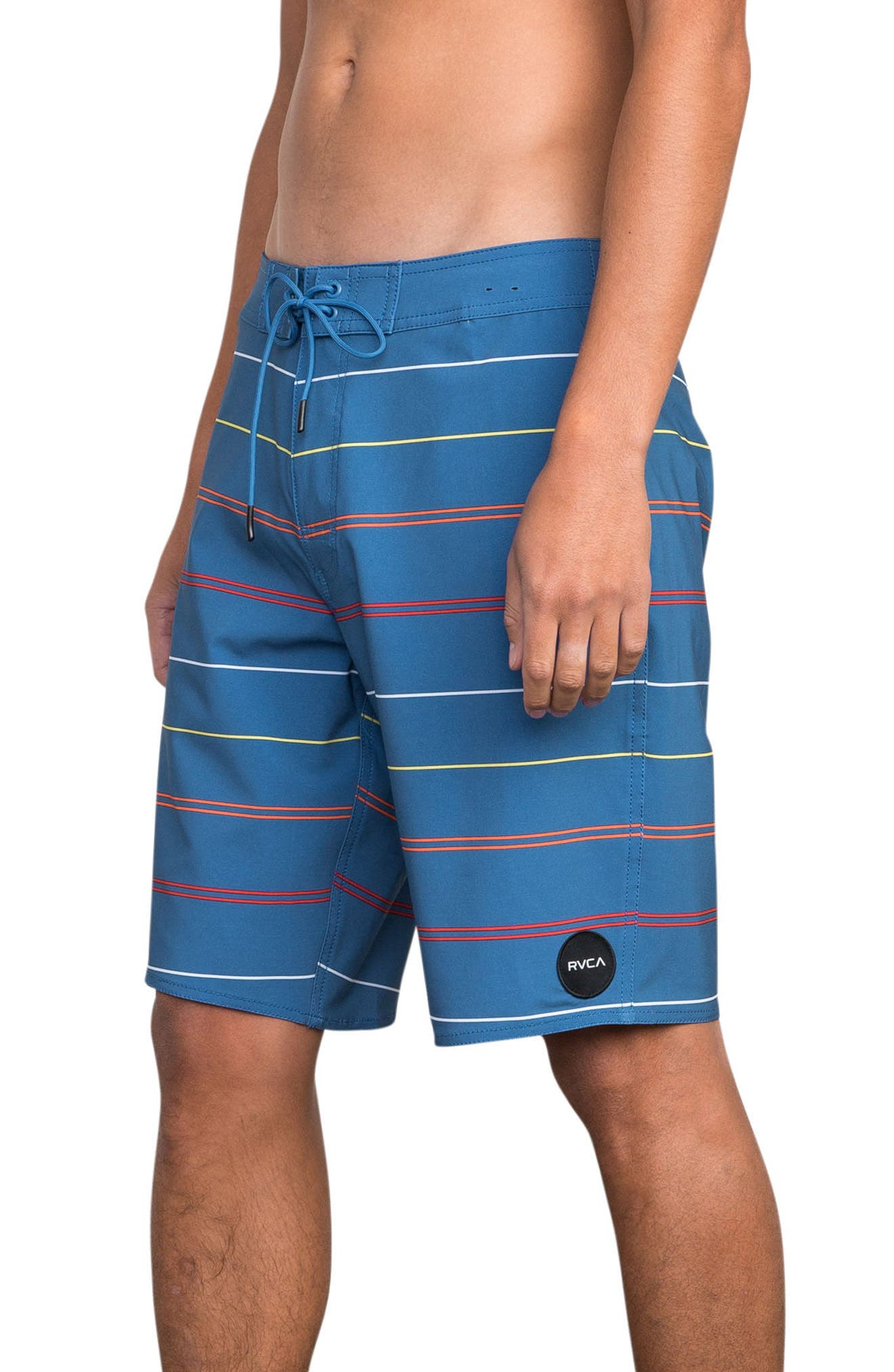 Middle Swim Trunks,                             Alternate thumbnail 3, color,                             COBALT