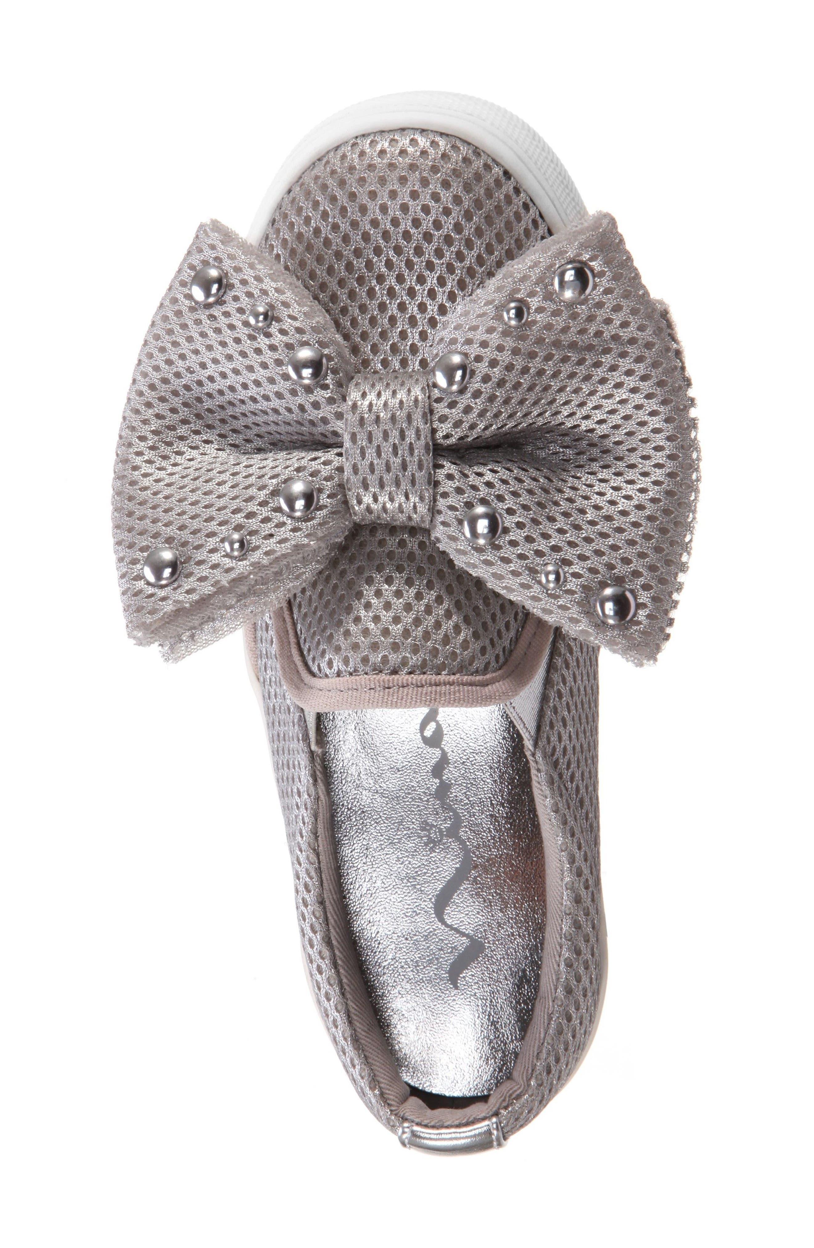 Mary Bow Slip-On Sneaker,                             Alternate thumbnail 5, color,                             040
