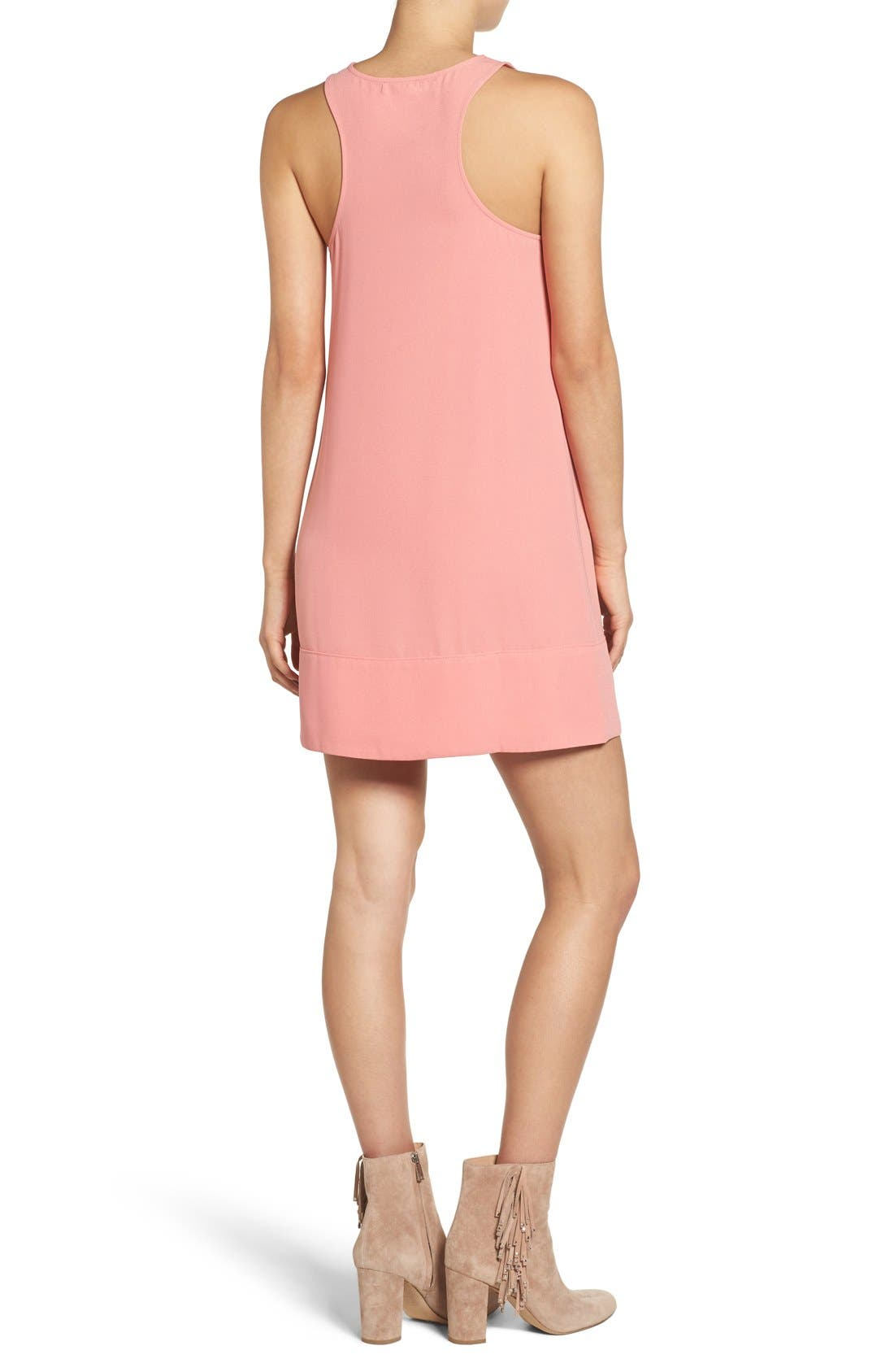 Racerback Shift Dress,                             Alternate thumbnail 209, color,