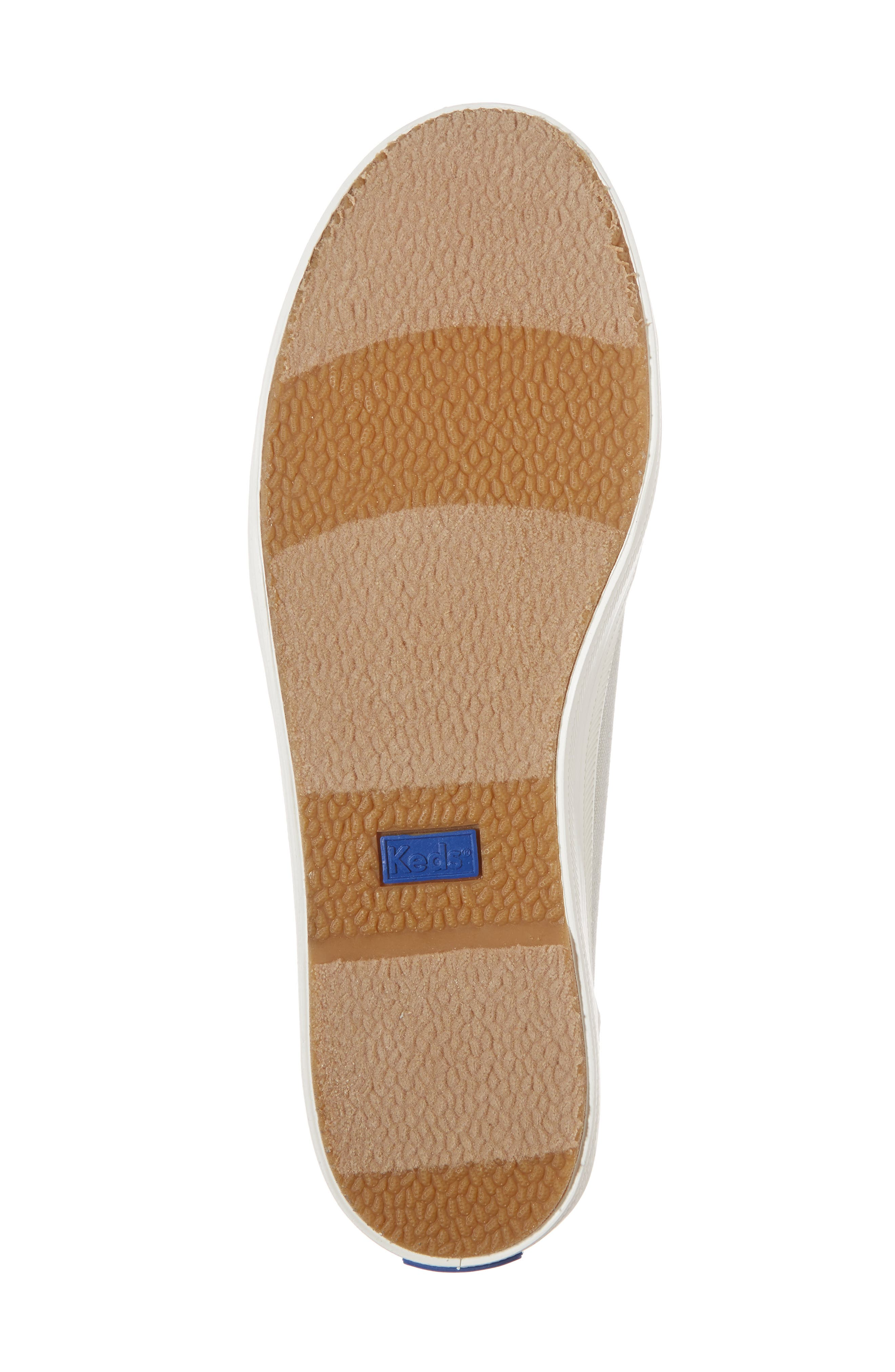 Kickstart Metallic Sneaker,                             Alternate thumbnail 6, color,                             040