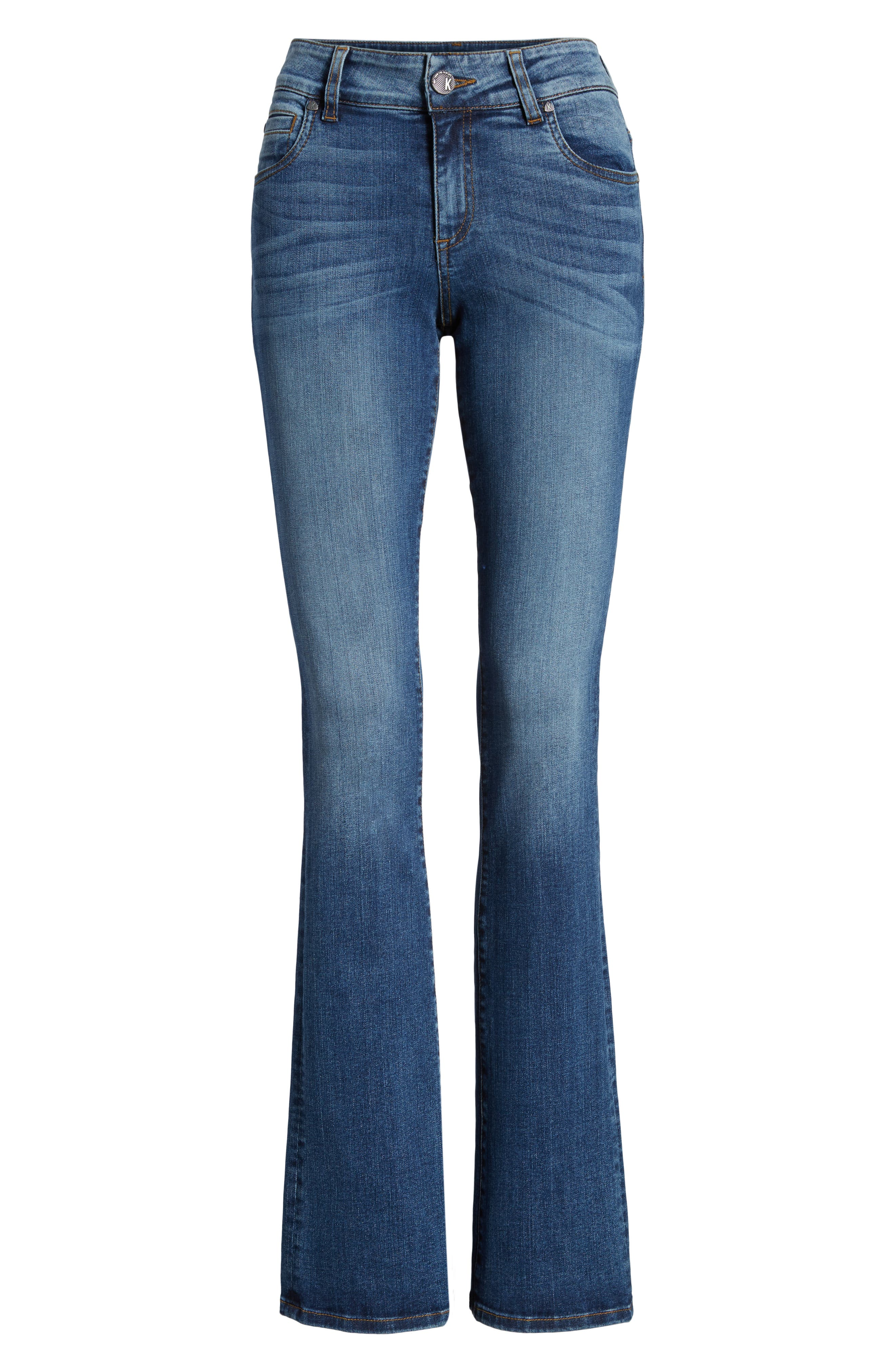 Natalie Bootcut Jeans,                             Alternate thumbnail 7, color,                             460