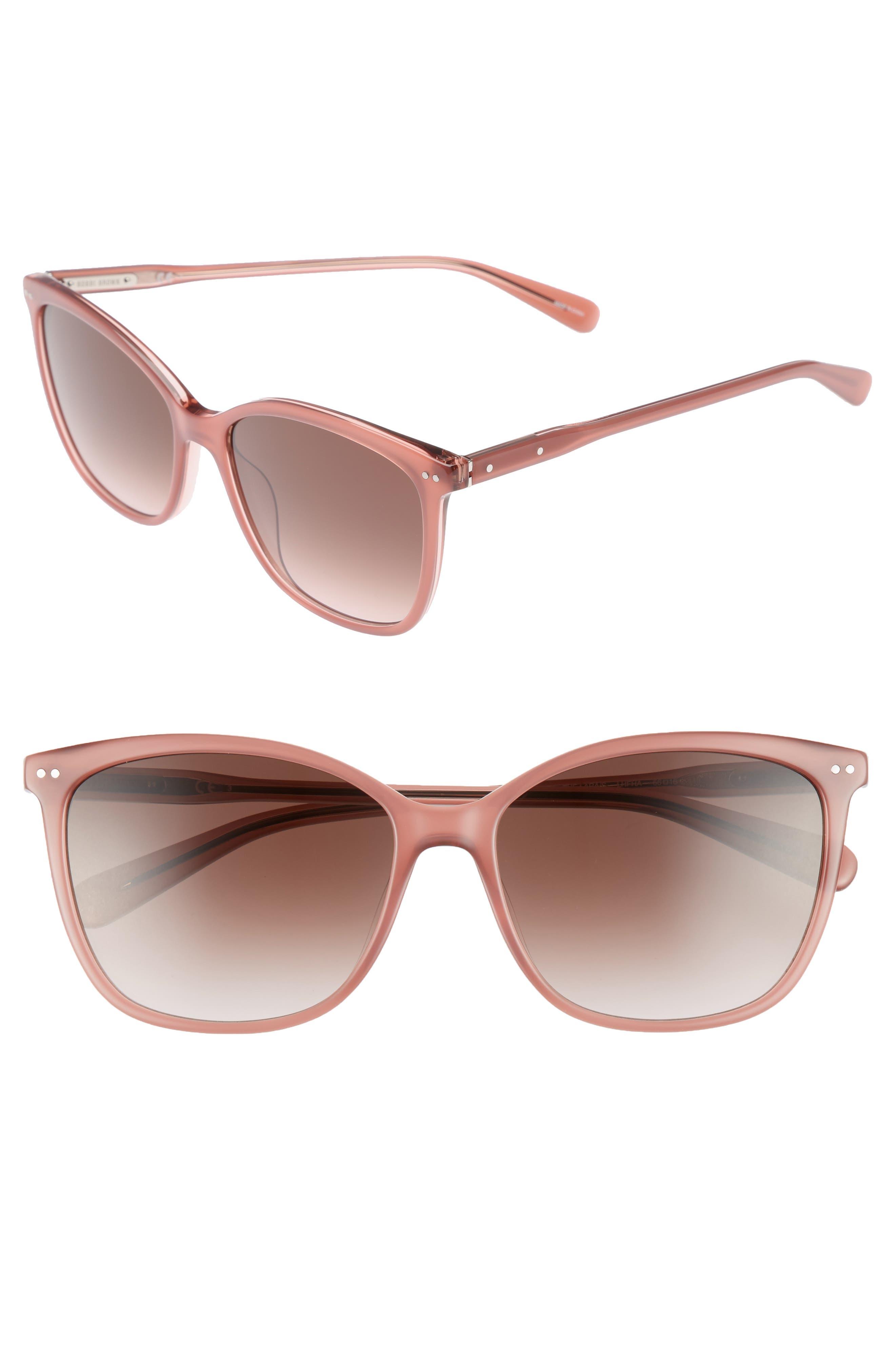 The Lara 56mm Cat Eye Sunglasses,                             Main thumbnail 4, color,
