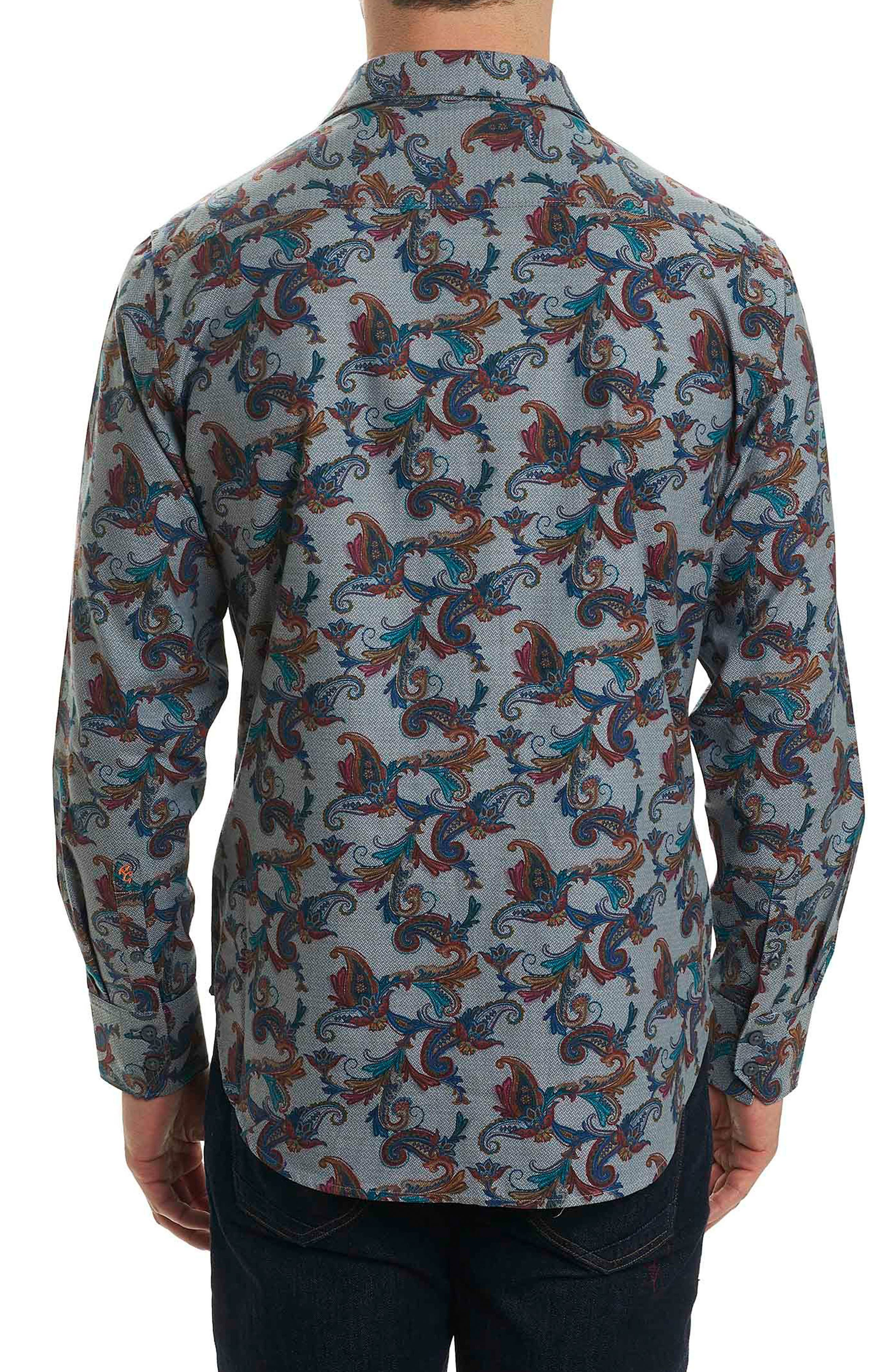 Massif Print Sport Shirt,                             Alternate thumbnail 2, color,                             063