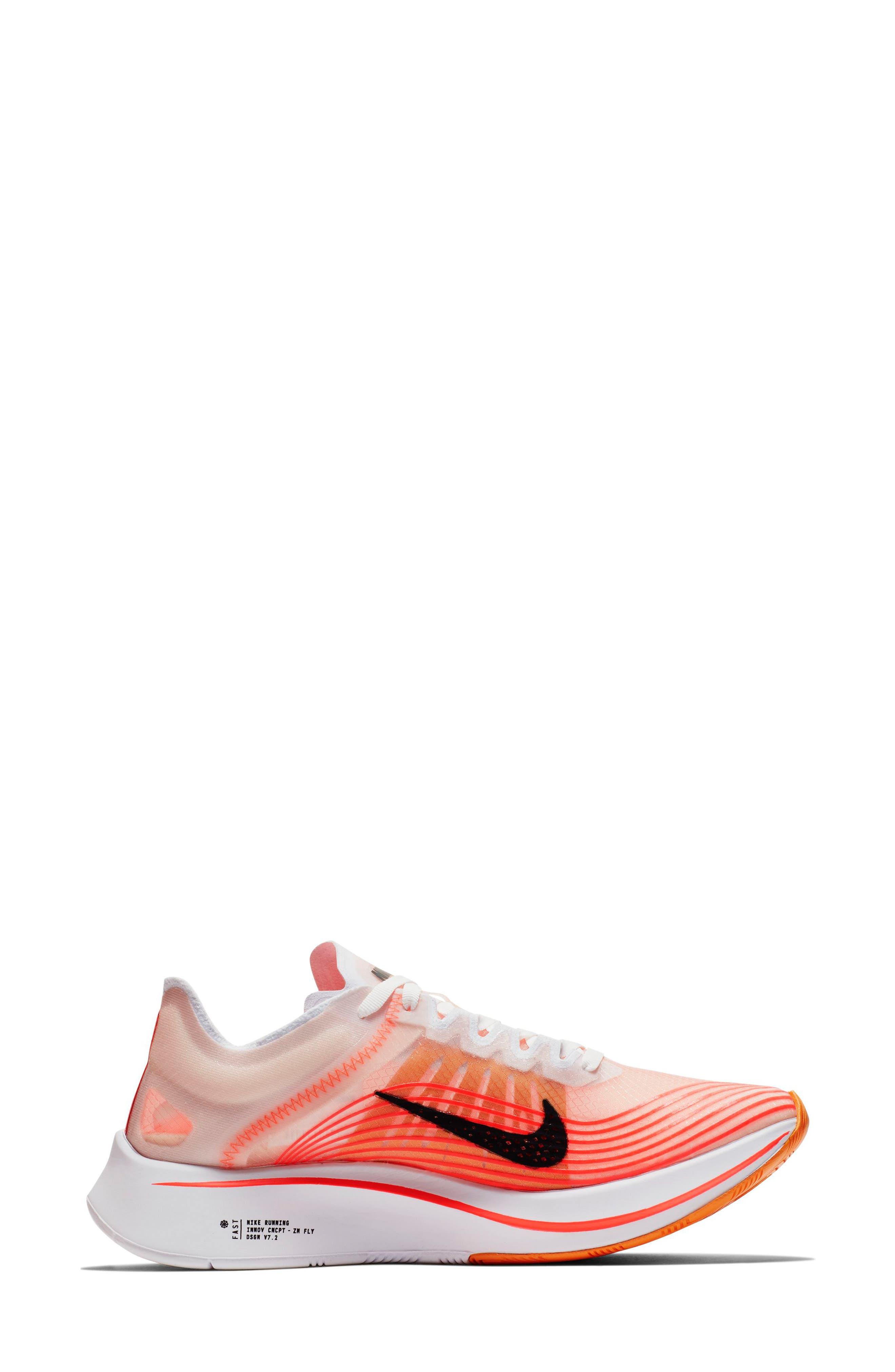 Zoom Fly SP Running Shoe,                             Alternate thumbnail 6, color,                             VARSITY RED/ BLACK/ WHITE