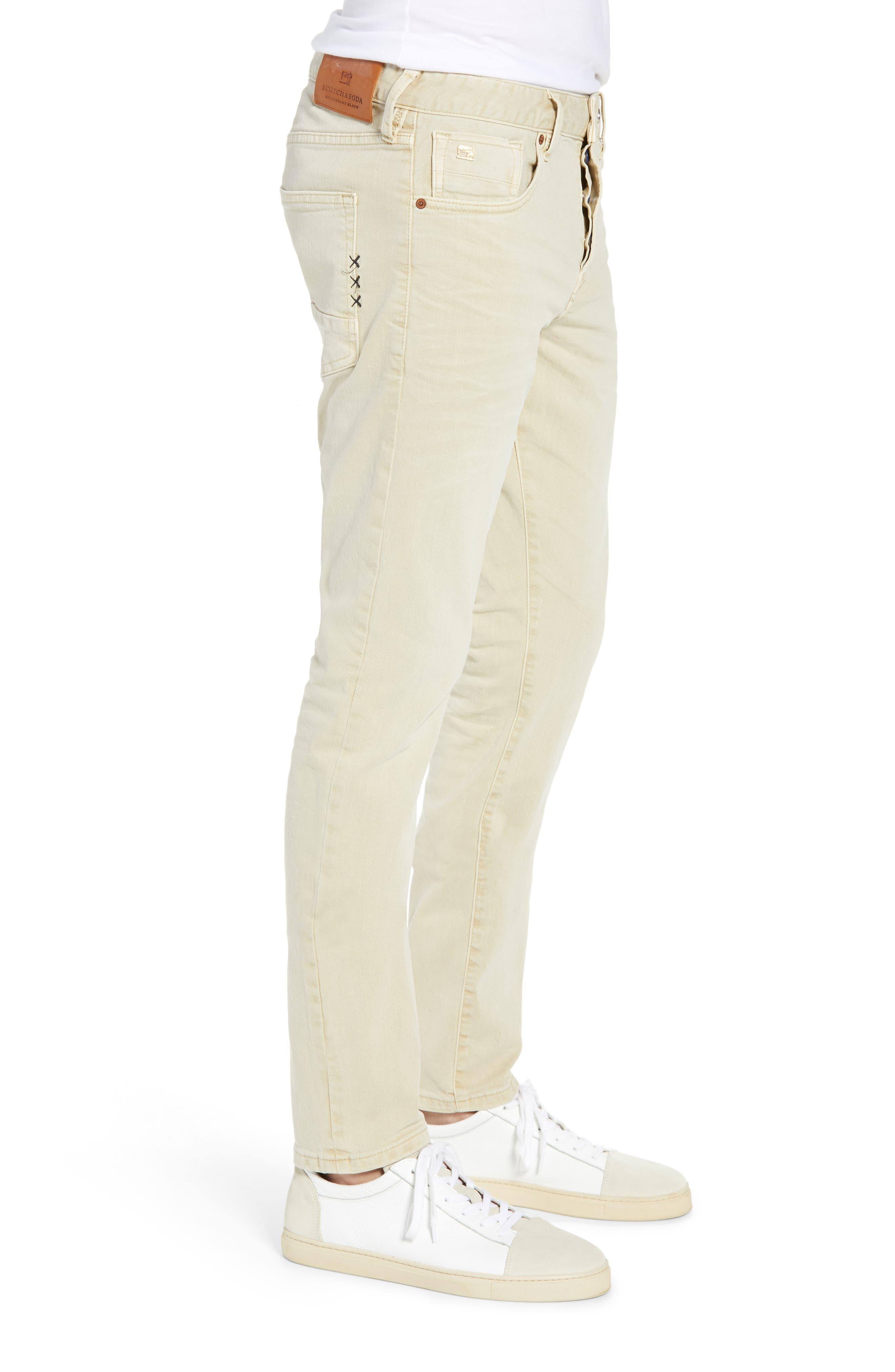 Ralston Slim Fit Pants,                             Alternate thumbnail 3, color,                             SAND