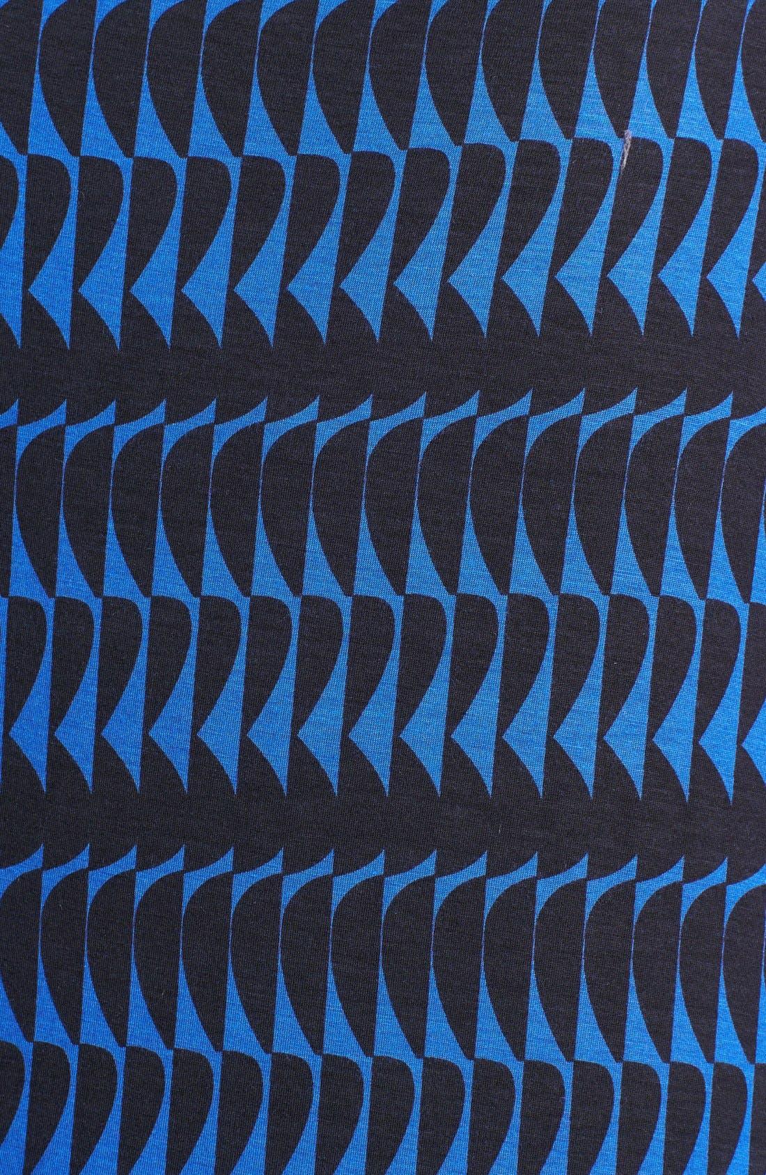 Drape Neck Print Top,                             Alternate thumbnail 20, color,