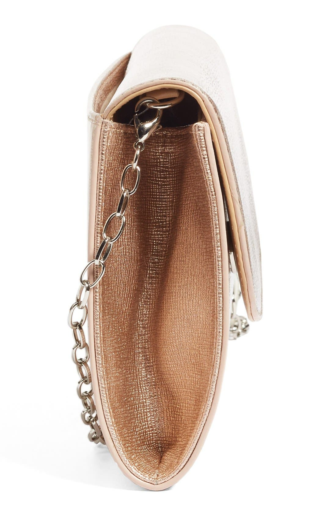 Leather Clutch,                             Alternate thumbnail 25, color,