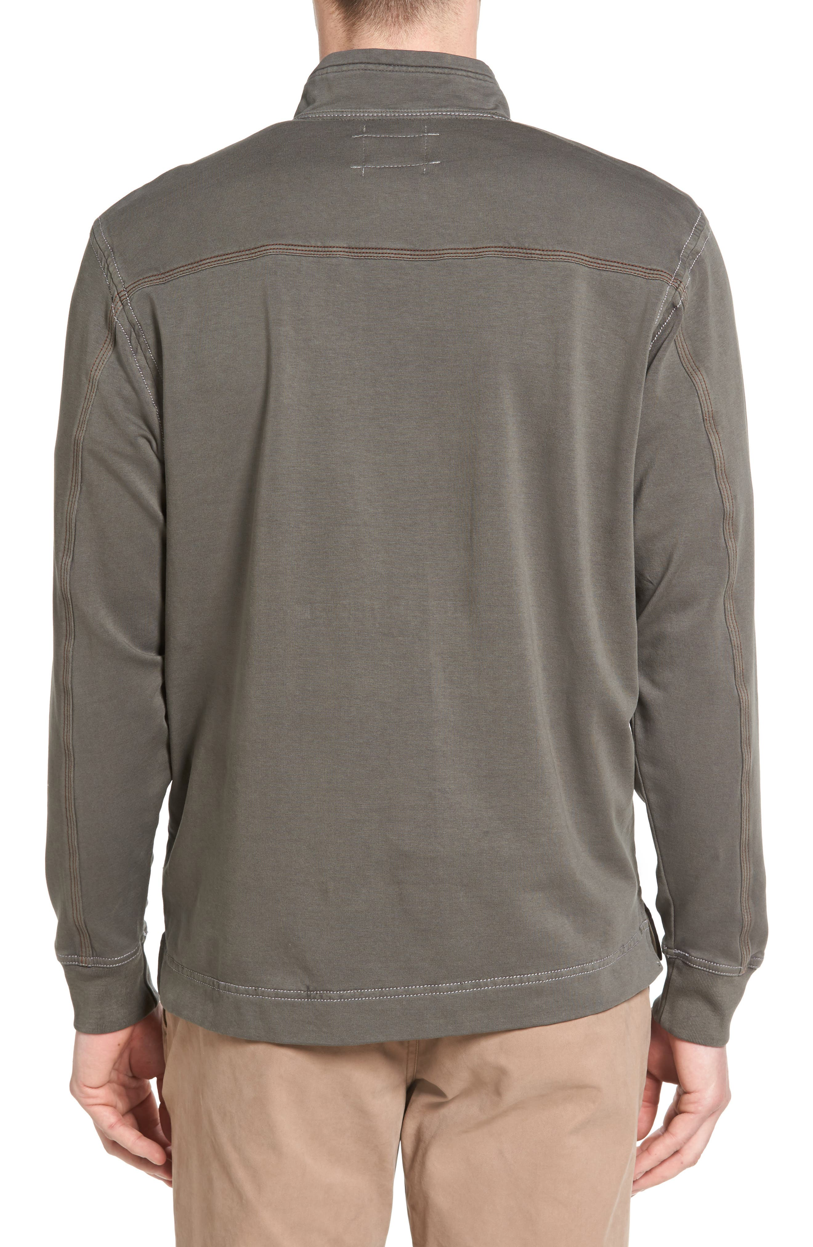 Half Zip Pullover,                             Alternate thumbnail 2, color,                             022