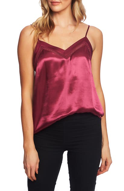 1.state Tops SATIN CAMISOLE