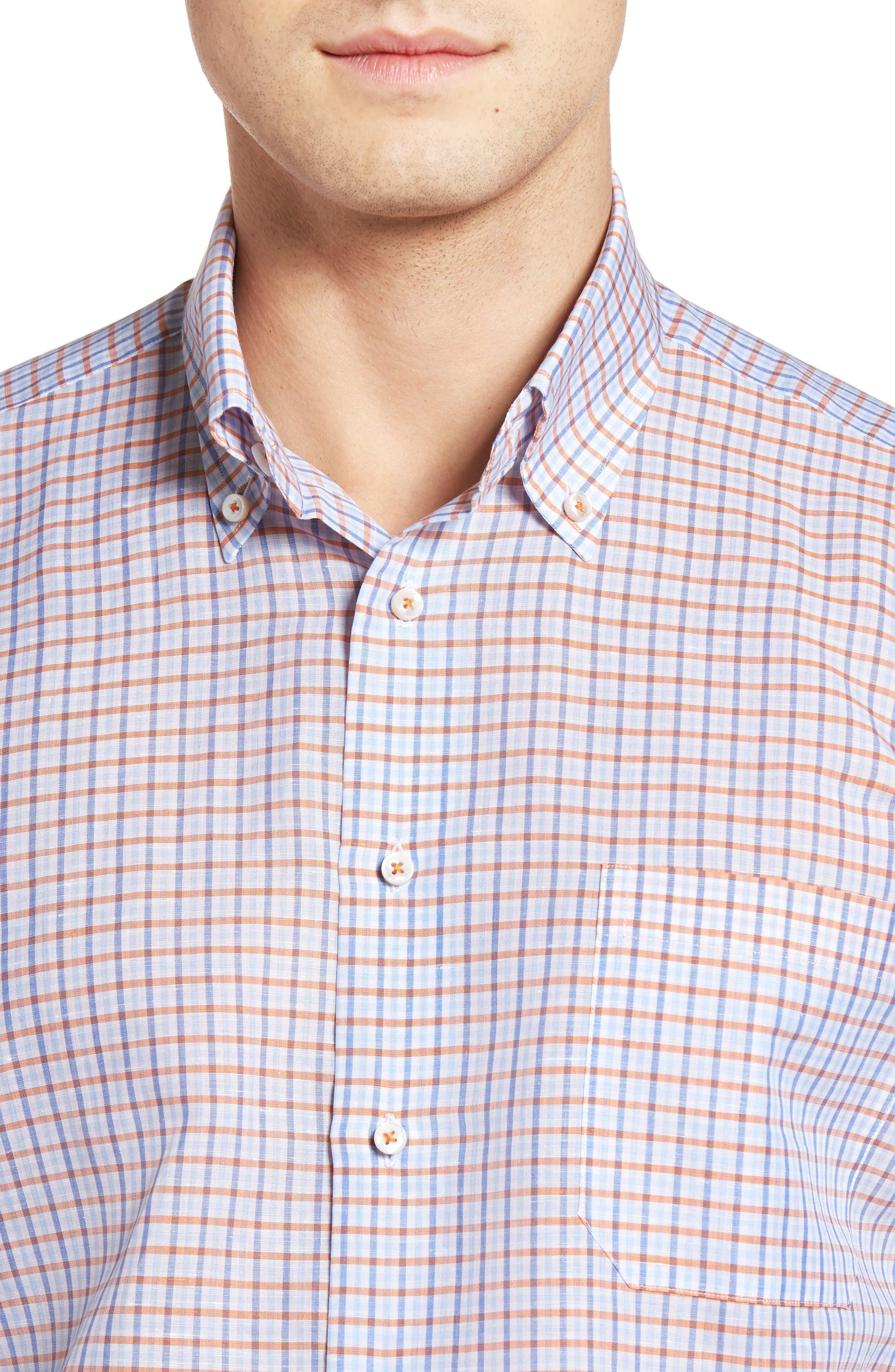 Estate Classic Fit Sport Shirt,                             Alternate thumbnail 4, color,                             810