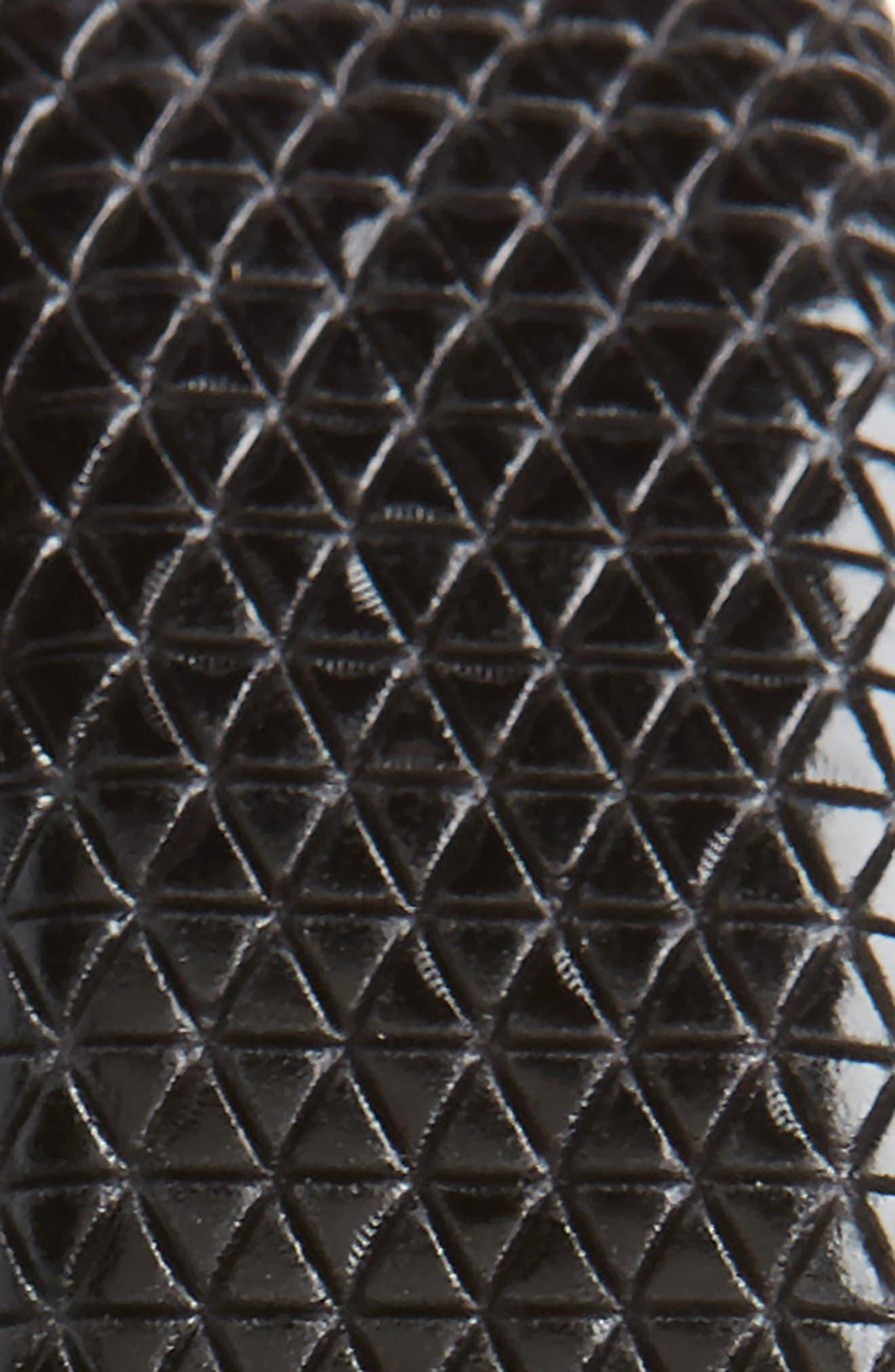Tatti Reversible Leather Belt,                             Alternate thumbnail 3, color,                             BLACK