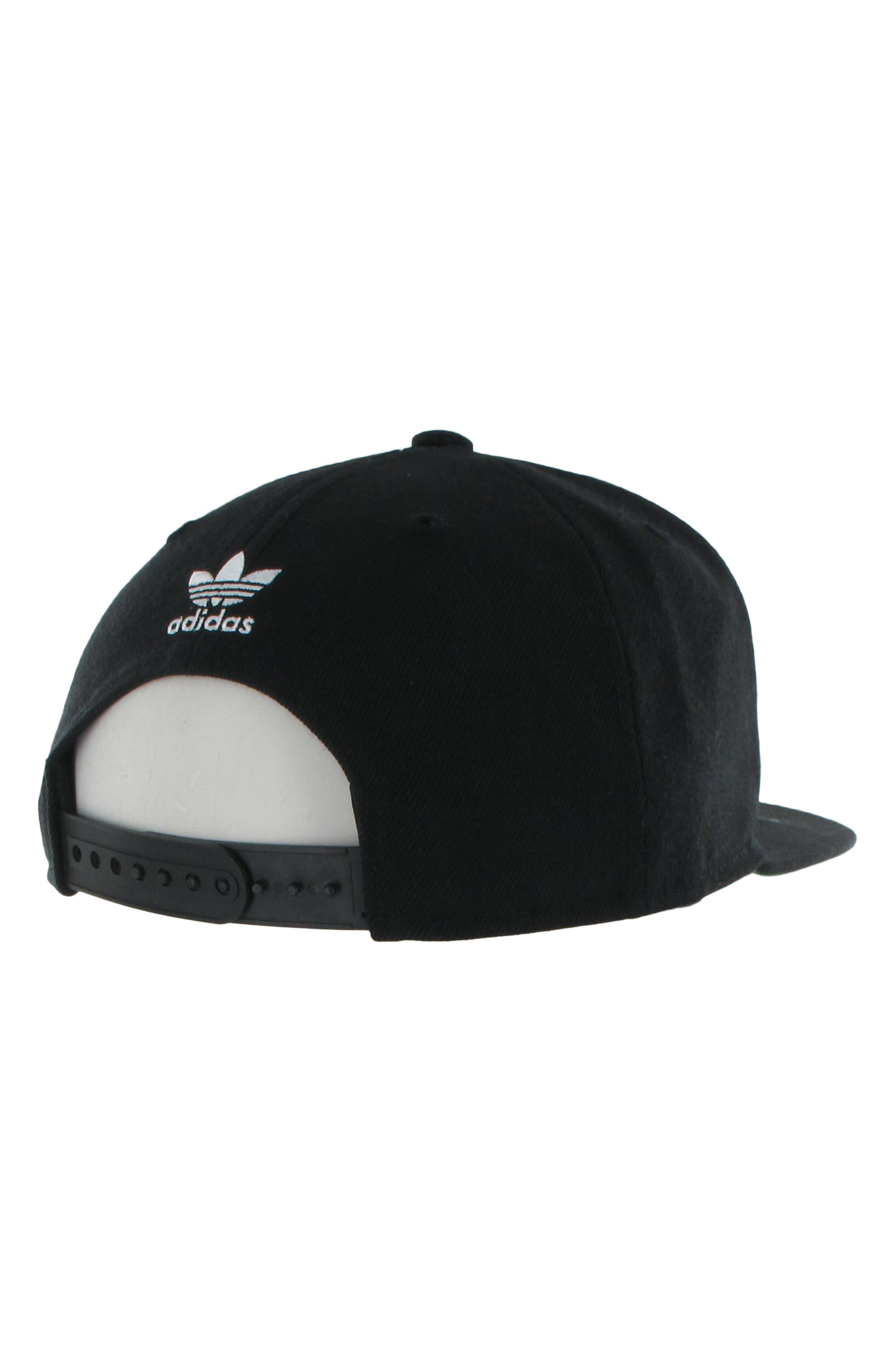 Originals Snapback Hat,                             Alternate thumbnail 2, color,                             BLACK/ WHITE