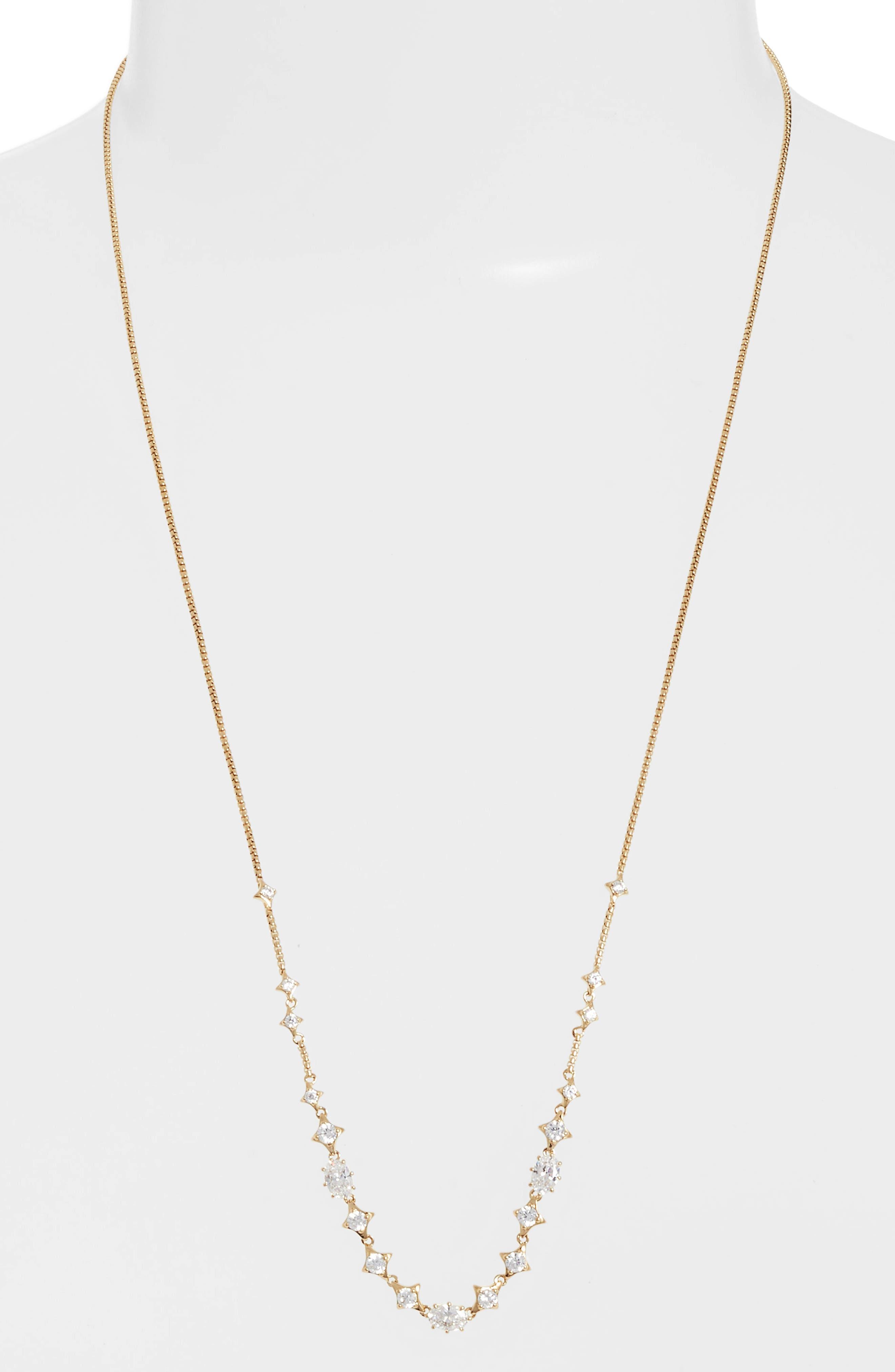 Boho Cubic Zirconia Necklace,                             Main thumbnail 3, color,