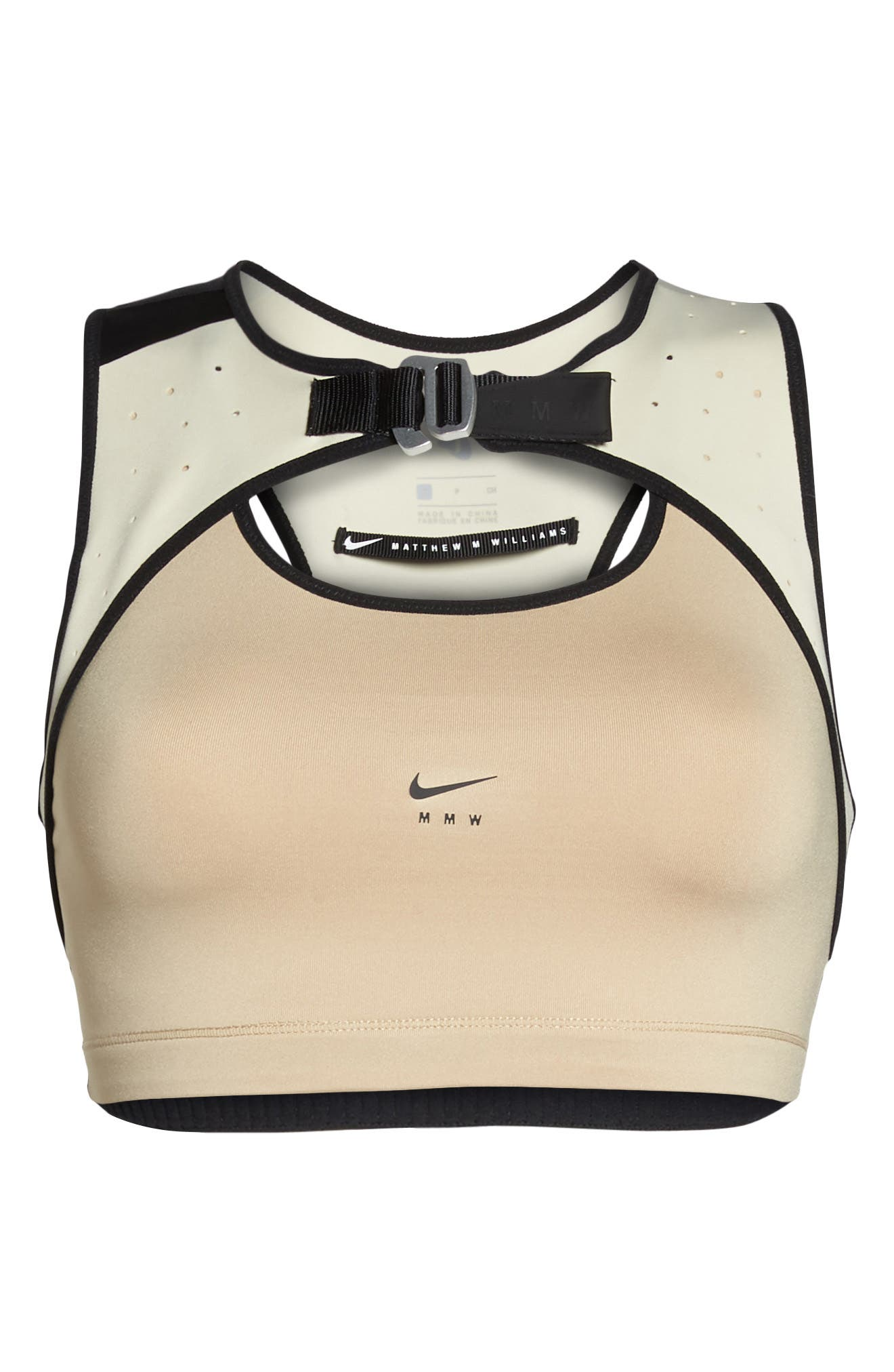 NikeLab x MMW Medium Support Dri-FIT Sports Bra,                             Alternate thumbnail 7, color,                             250