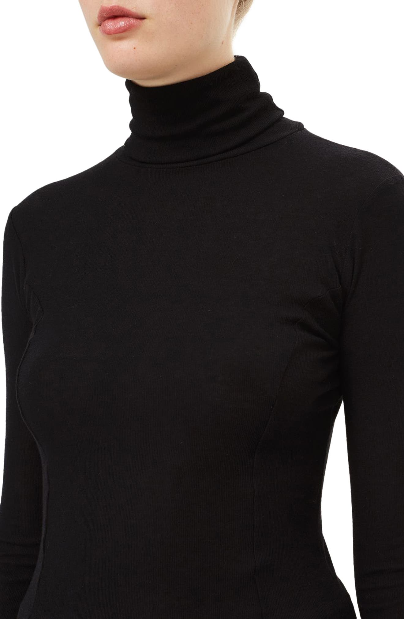 Wool Turtleneck Sweater,                             Alternate thumbnail 7, color,