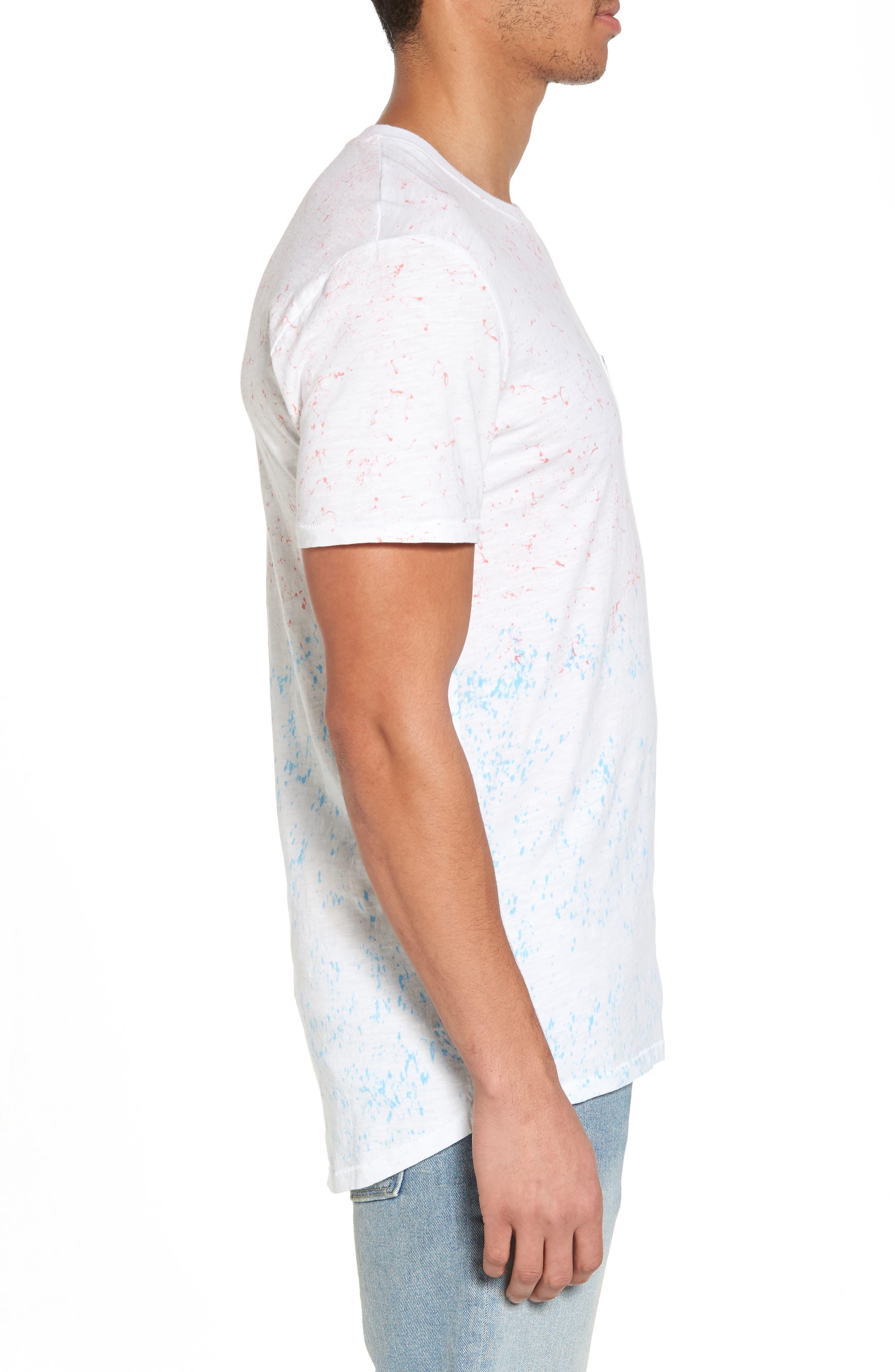 Tropics Longline T-Shirt,                             Alternate thumbnail 3, color,