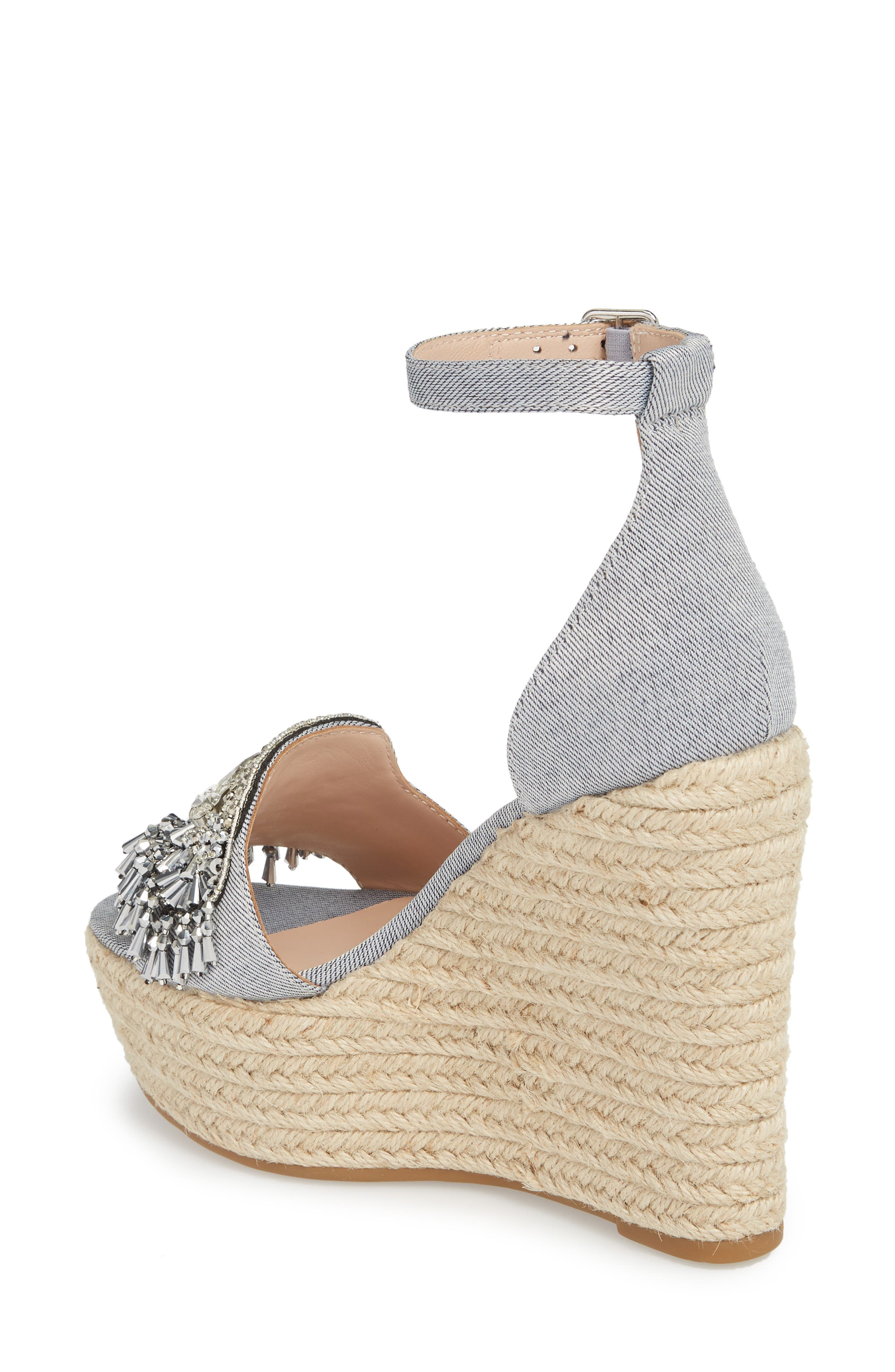 Maxim Platform Wedge Sandal,                             Alternate thumbnail 5, color,