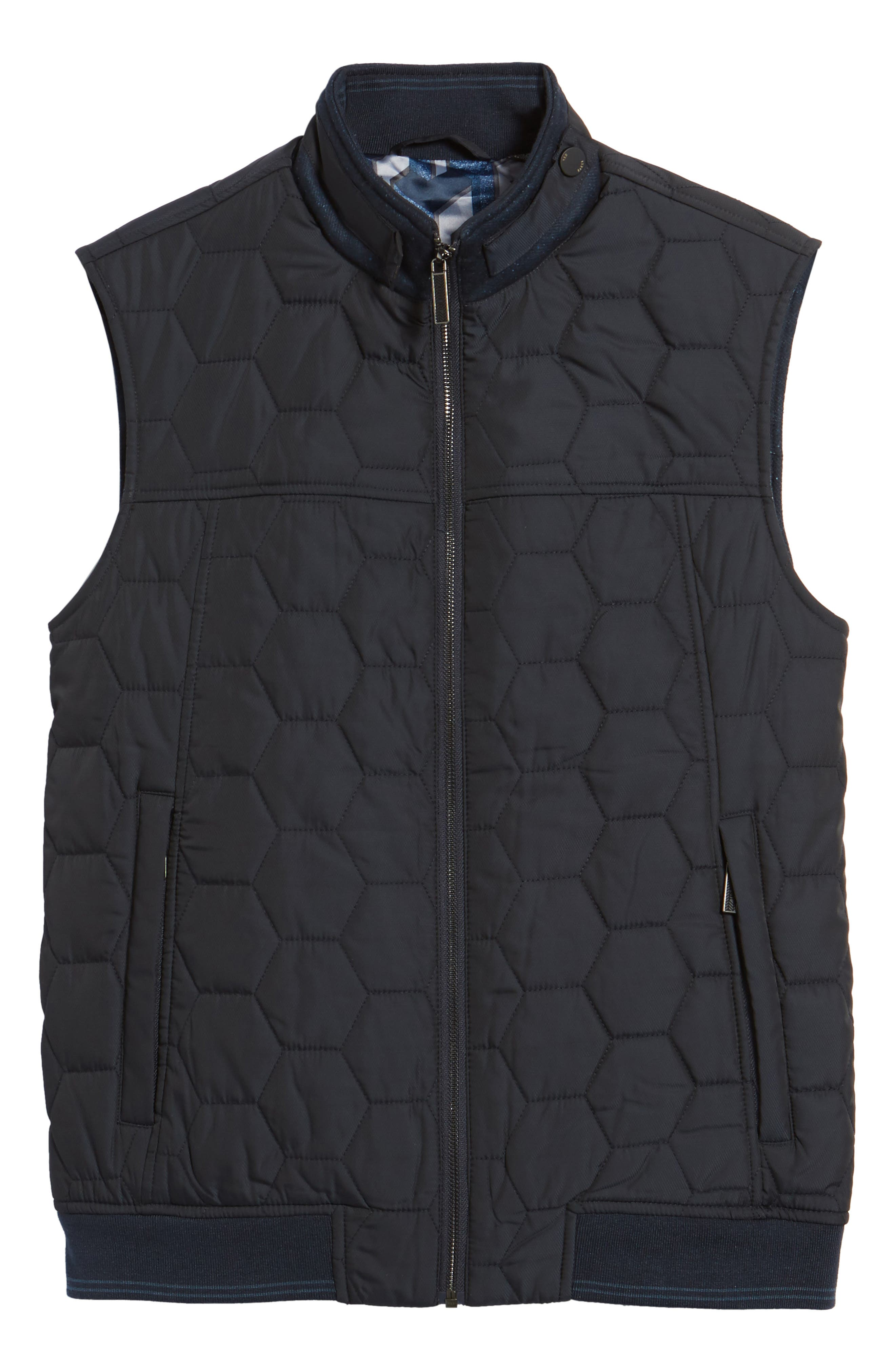 Ferny Quilted Vest,                             Alternate thumbnail 5, color,