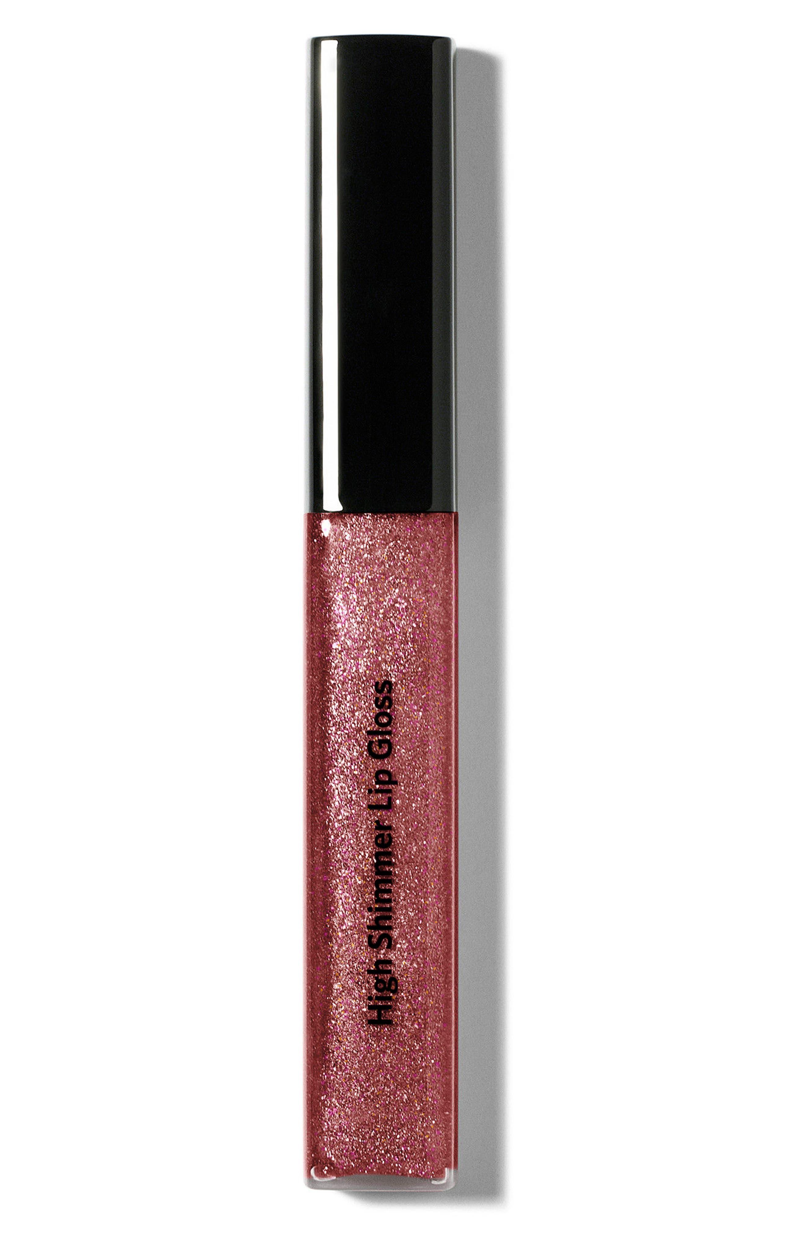 BOBBI BROWN High Shimmer Lip Gloss, Main, color, NAKED PLUM