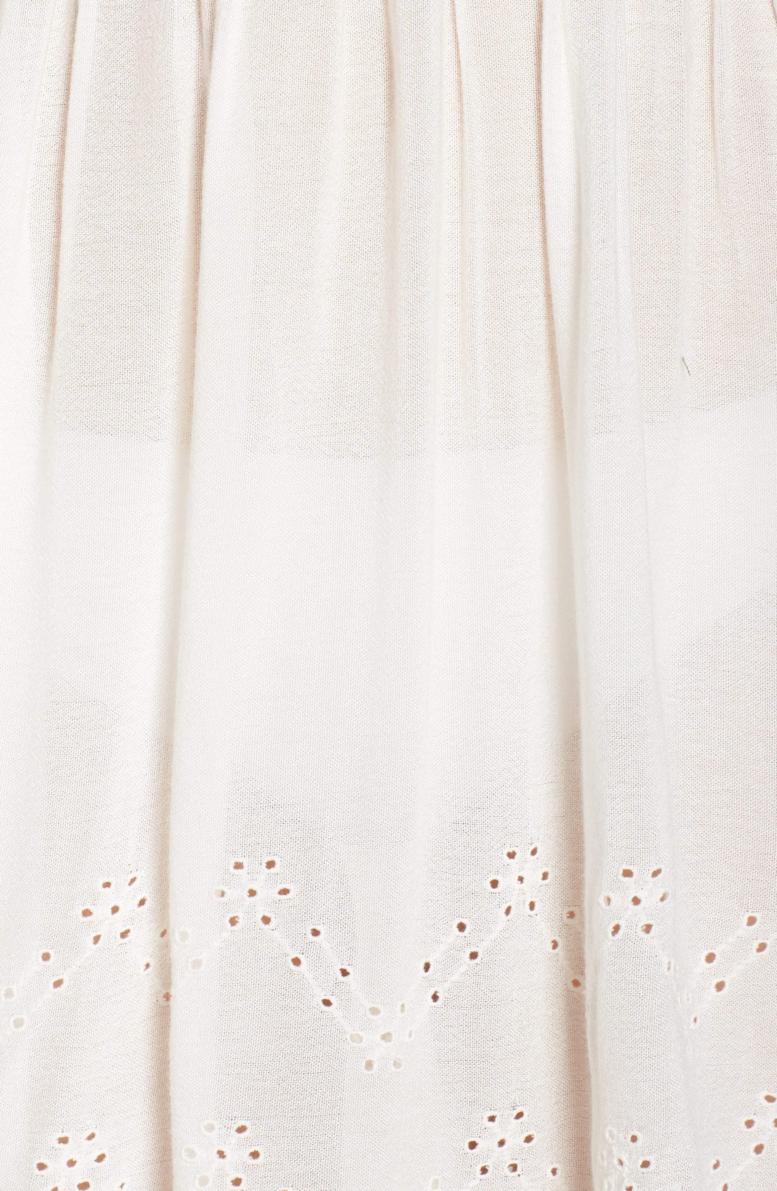Goddess Cover-Up Dress,                             Alternate thumbnail 5, color,                             IVORY EGRET