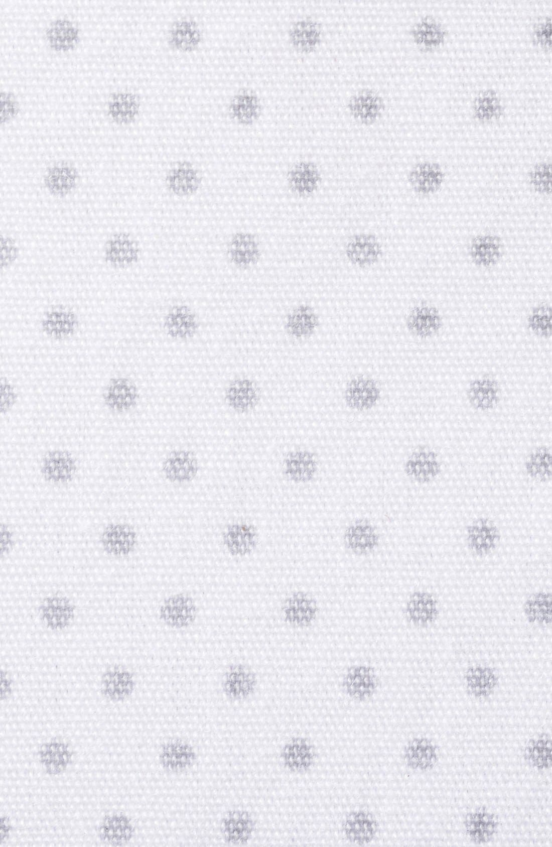 Cotton Fitted Sheet for Halo<sup>®</sup> Bassinest<sup>™</sup> Swivel Sleeper,                             Alternate thumbnail 3, color,                             GREY PIN DOT