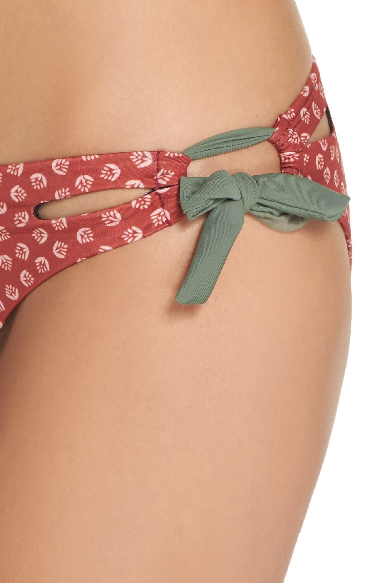Side Tie Bikini Bottoms,                             Alternate thumbnail 8, color,