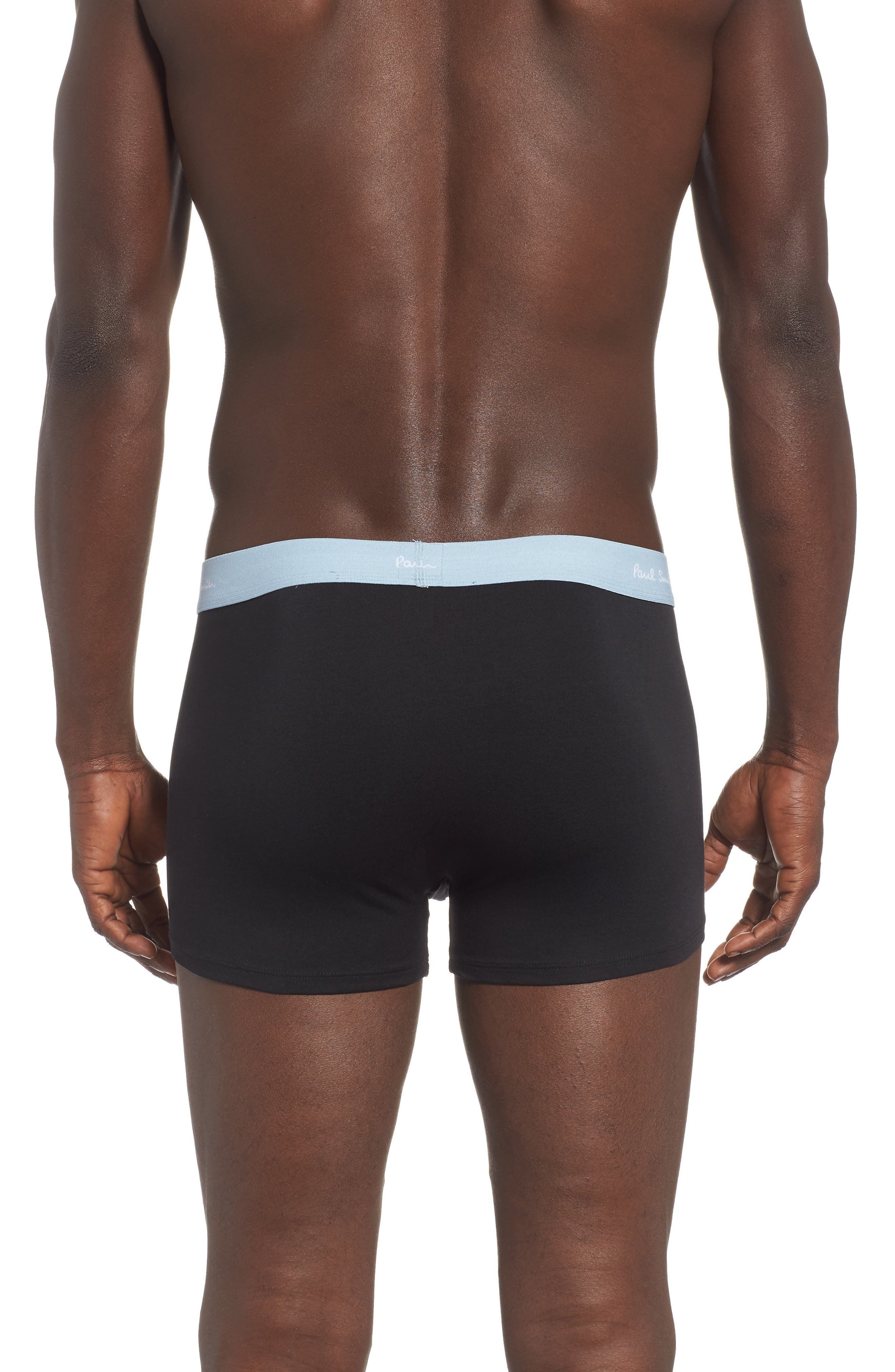 Cotton Trunks,                             Alternate thumbnail 2, color,                             LIGHT BLUE