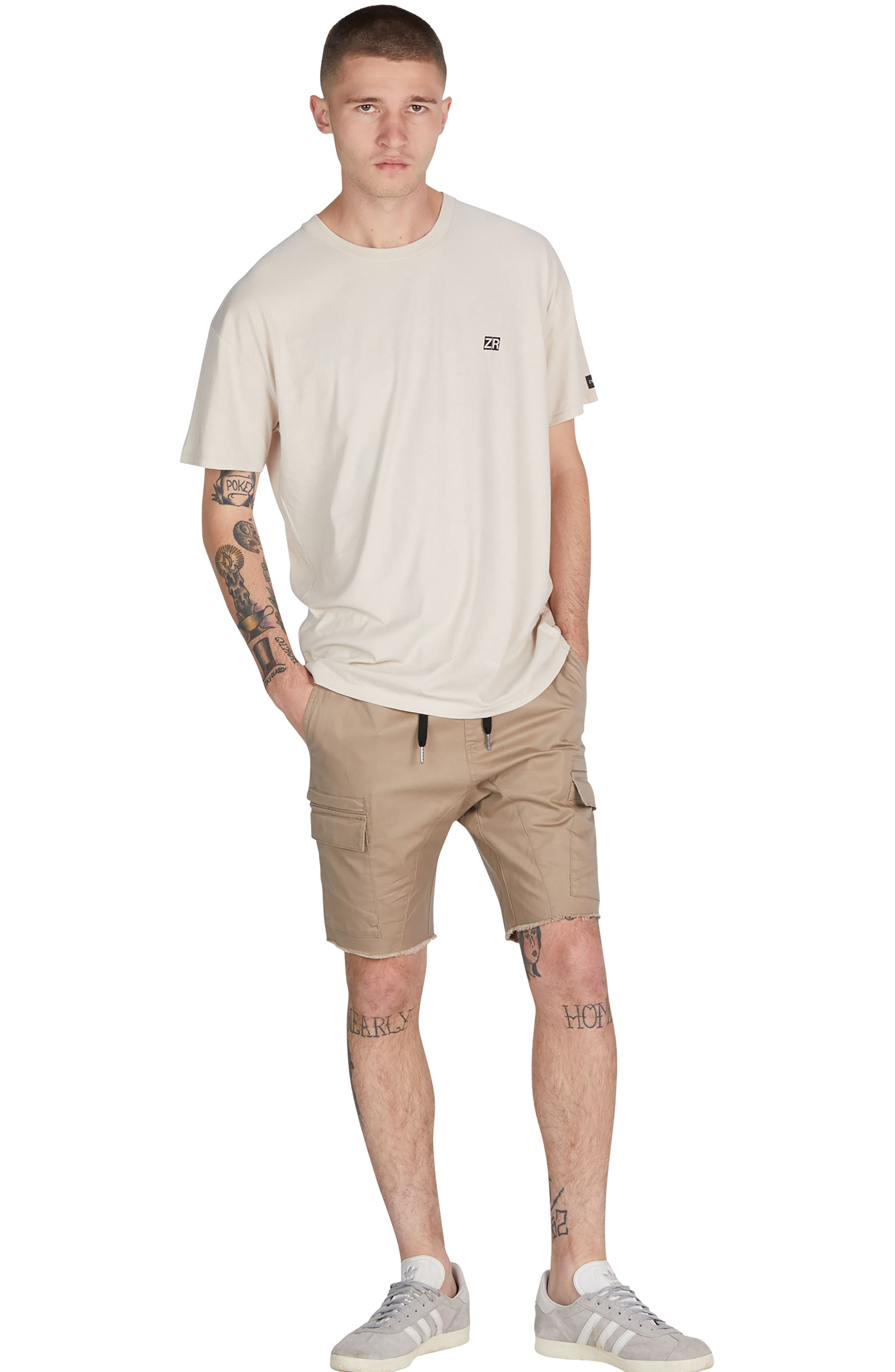 Sureshot Cargo Shorts,                             Alternate thumbnail 5, color,                             SAND