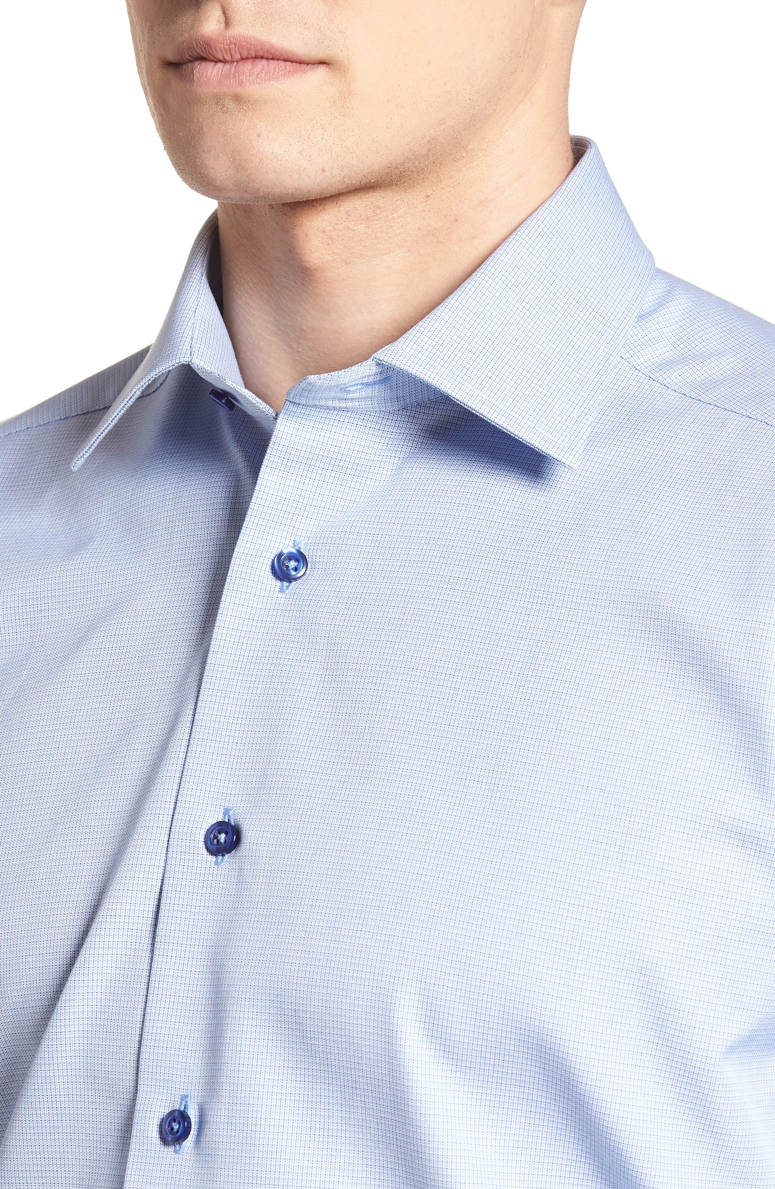 Regular Fit Solid Dress Shirt,                             Alternate thumbnail 2, color,                             423