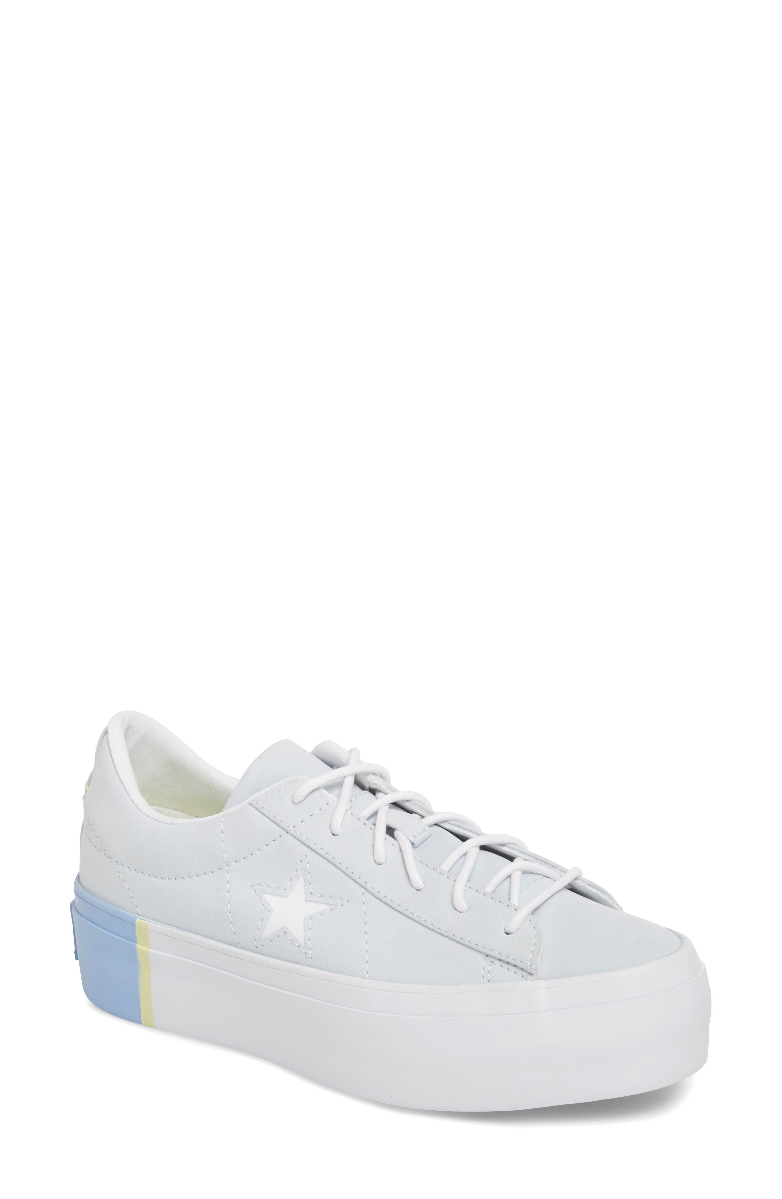 Chuck Taylor<sup>®</sup> All Star<sup>®</sup> One Star Platform Sneaker,                             Main thumbnail 2, color,