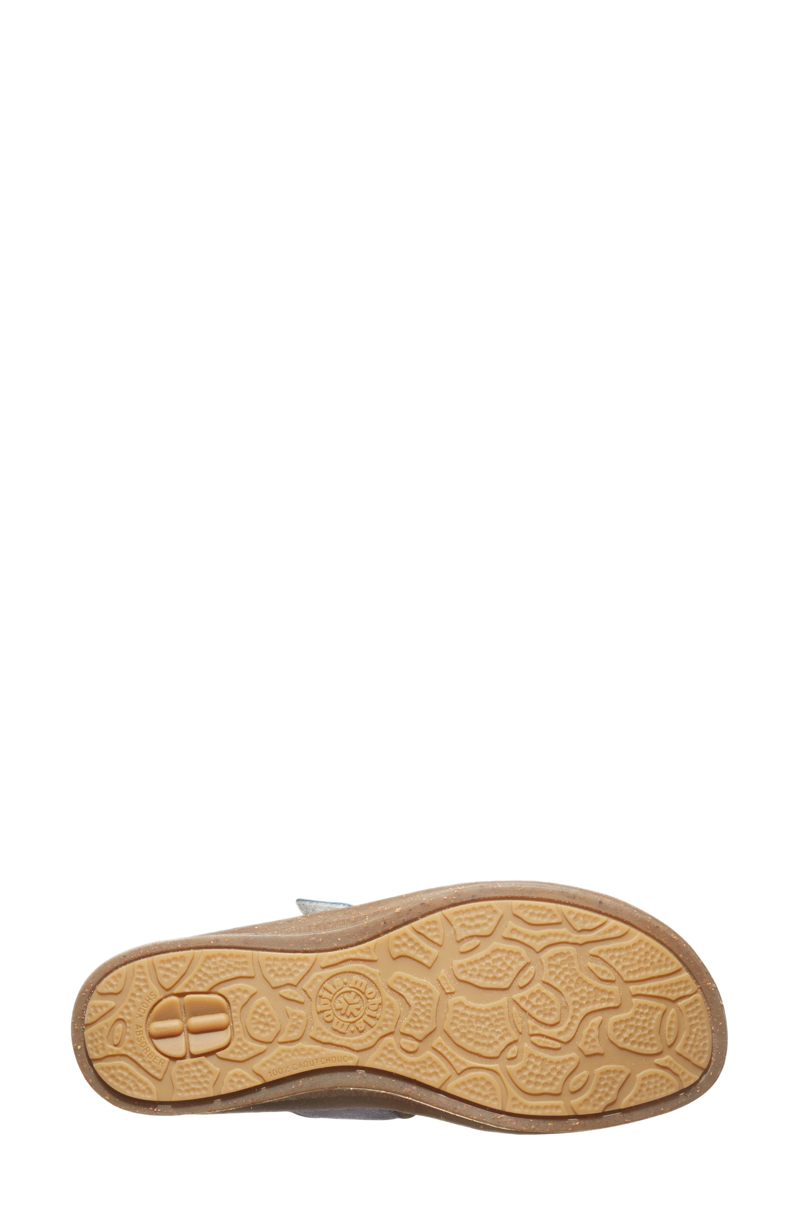 'Bregalia' Metallic Leather Sandal,                             Alternate thumbnail 3, color,                             400