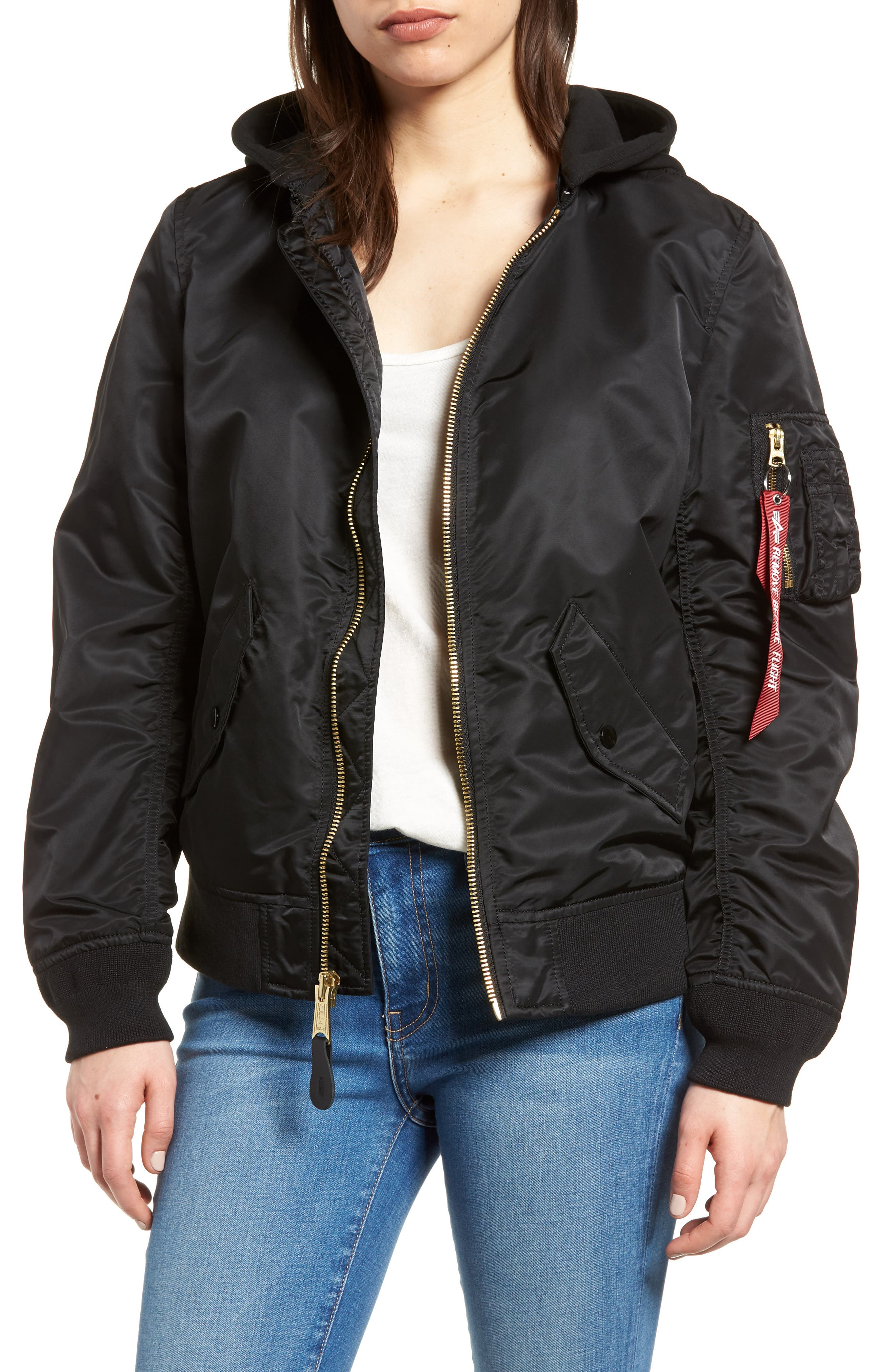L-2B Natus Flight Jacket,                         Main,                         color,