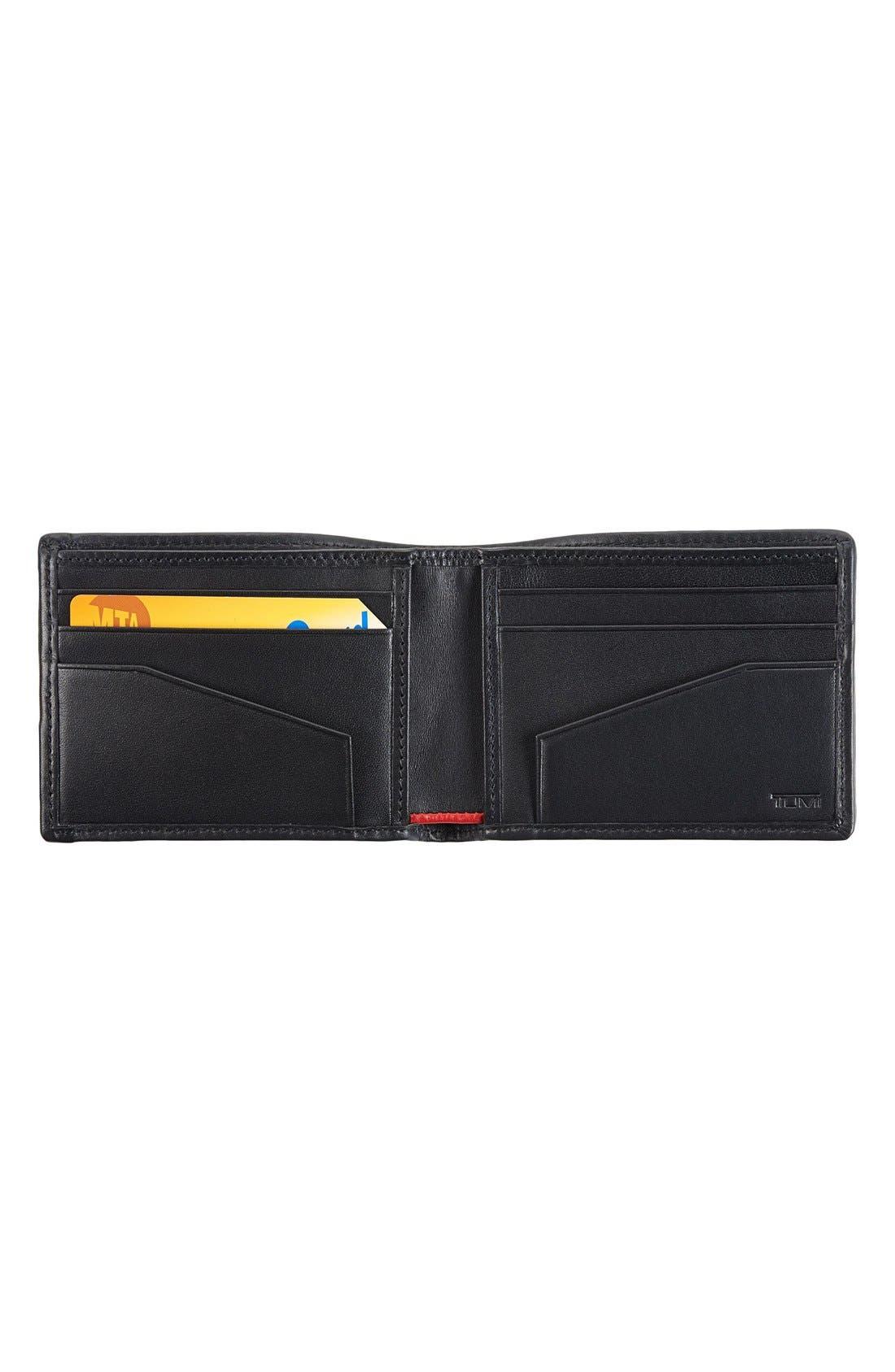 Alpha Billfold Wallet,                             Alternate thumbnail 2, color,                             BLACK