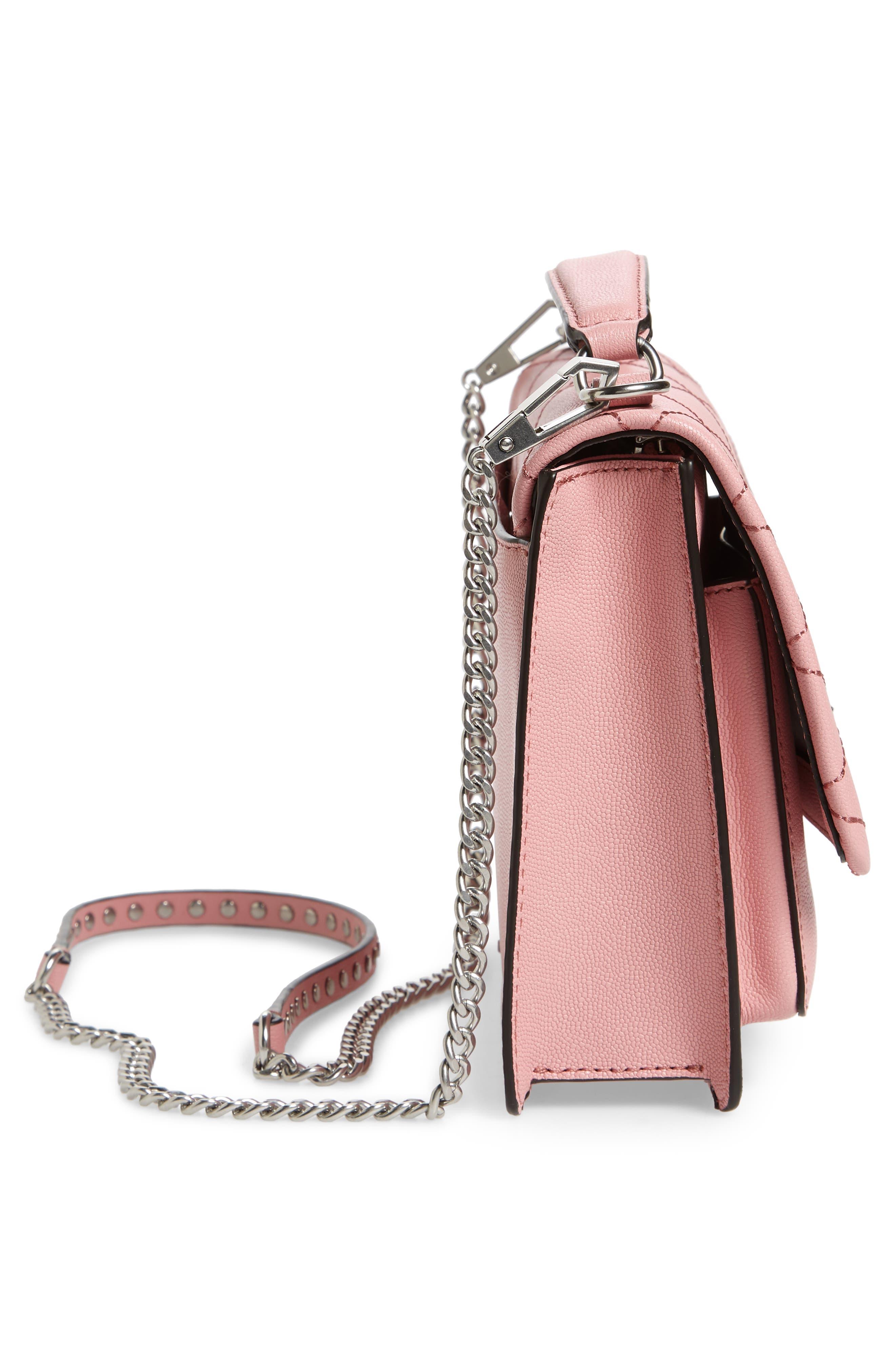 Medium Je T'aime Convertible Leather Crossbody Bag,                             Alternate thumbnail 49, color,