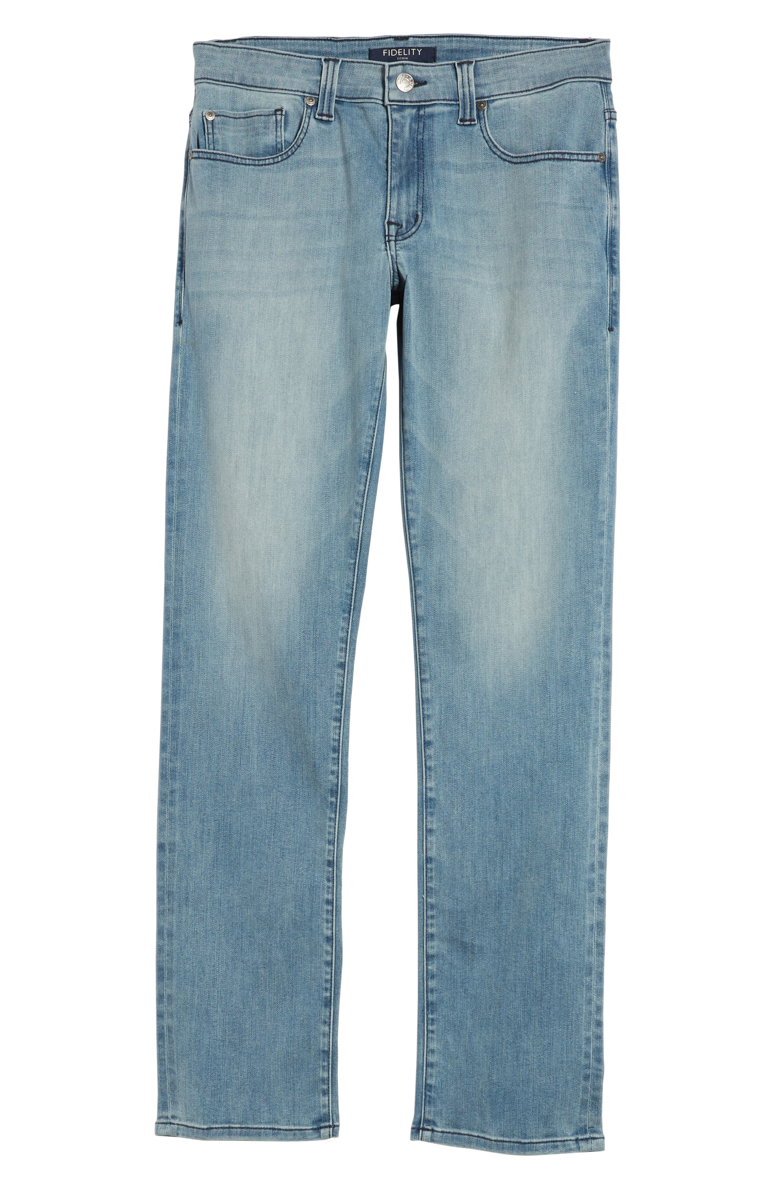 Jimmy Slim Straight Leg Jeans,                             Alternate thumbnail 6, color,