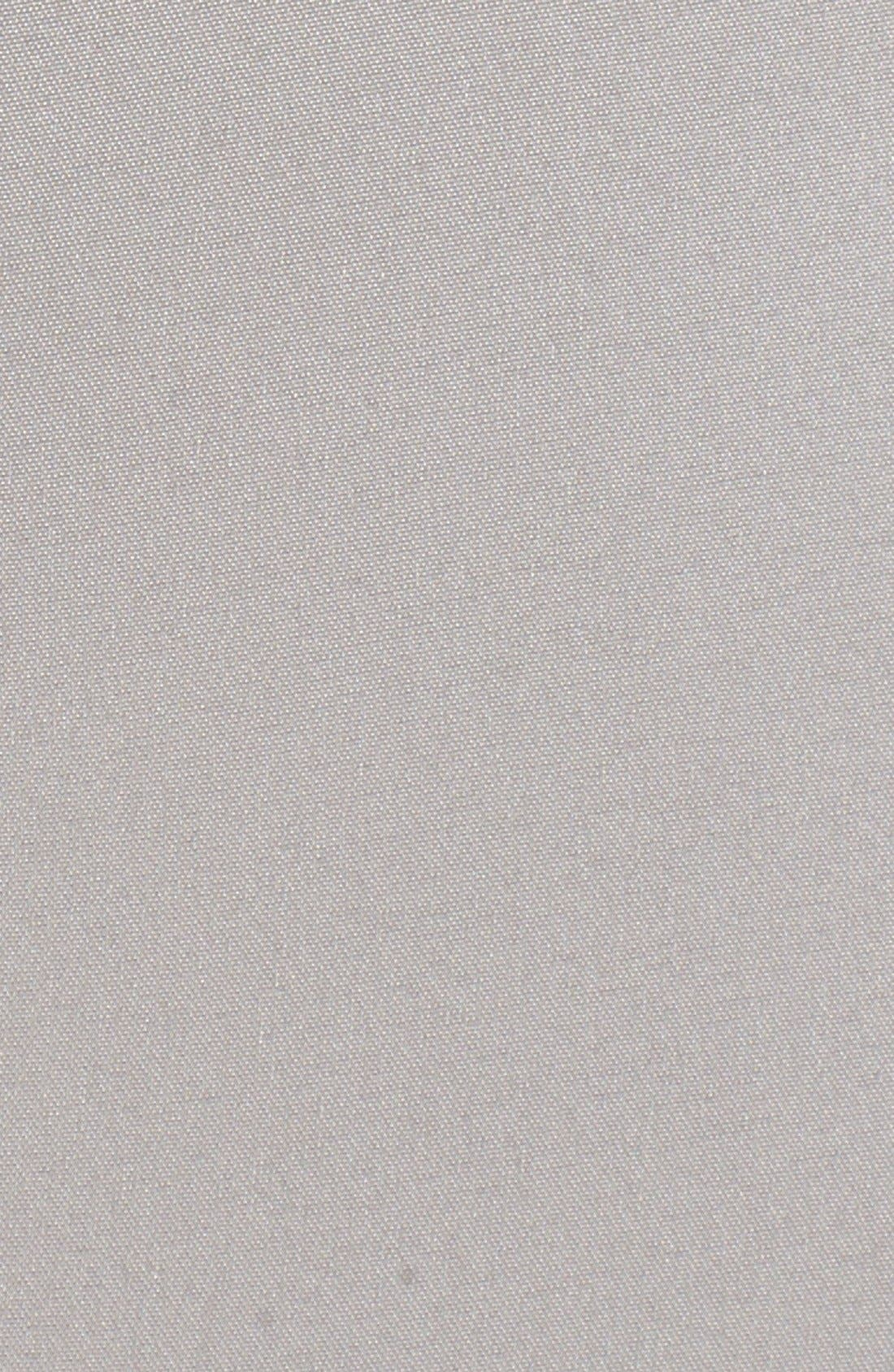 Liquid Satin Crop Pants,                             Alternate thumbnail 7, color,                             PLATINUM