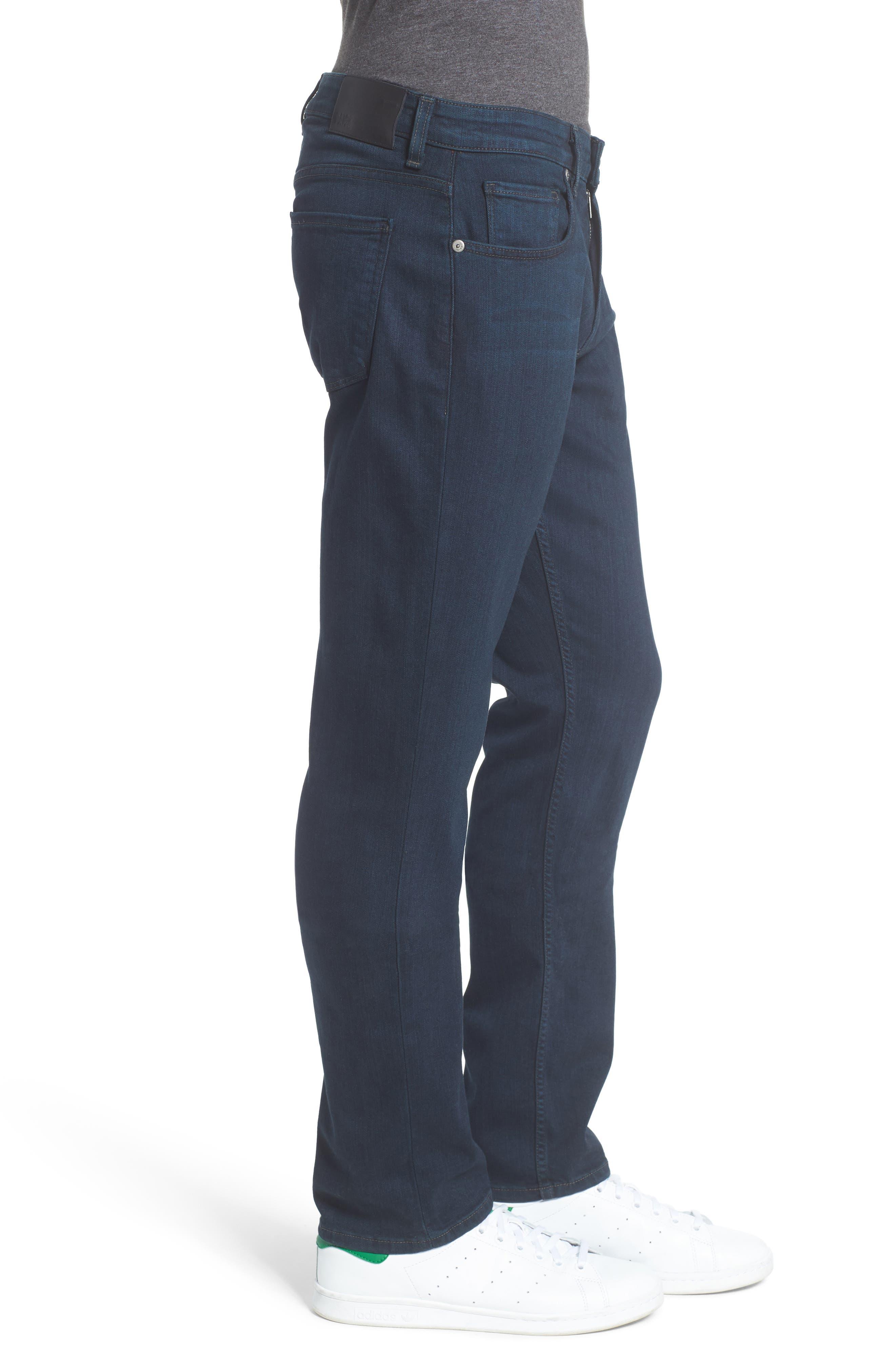 Transcend - Federal Slim Straight Leg Jeans,                             Alternate thumbnail 3, color,                             ARLO