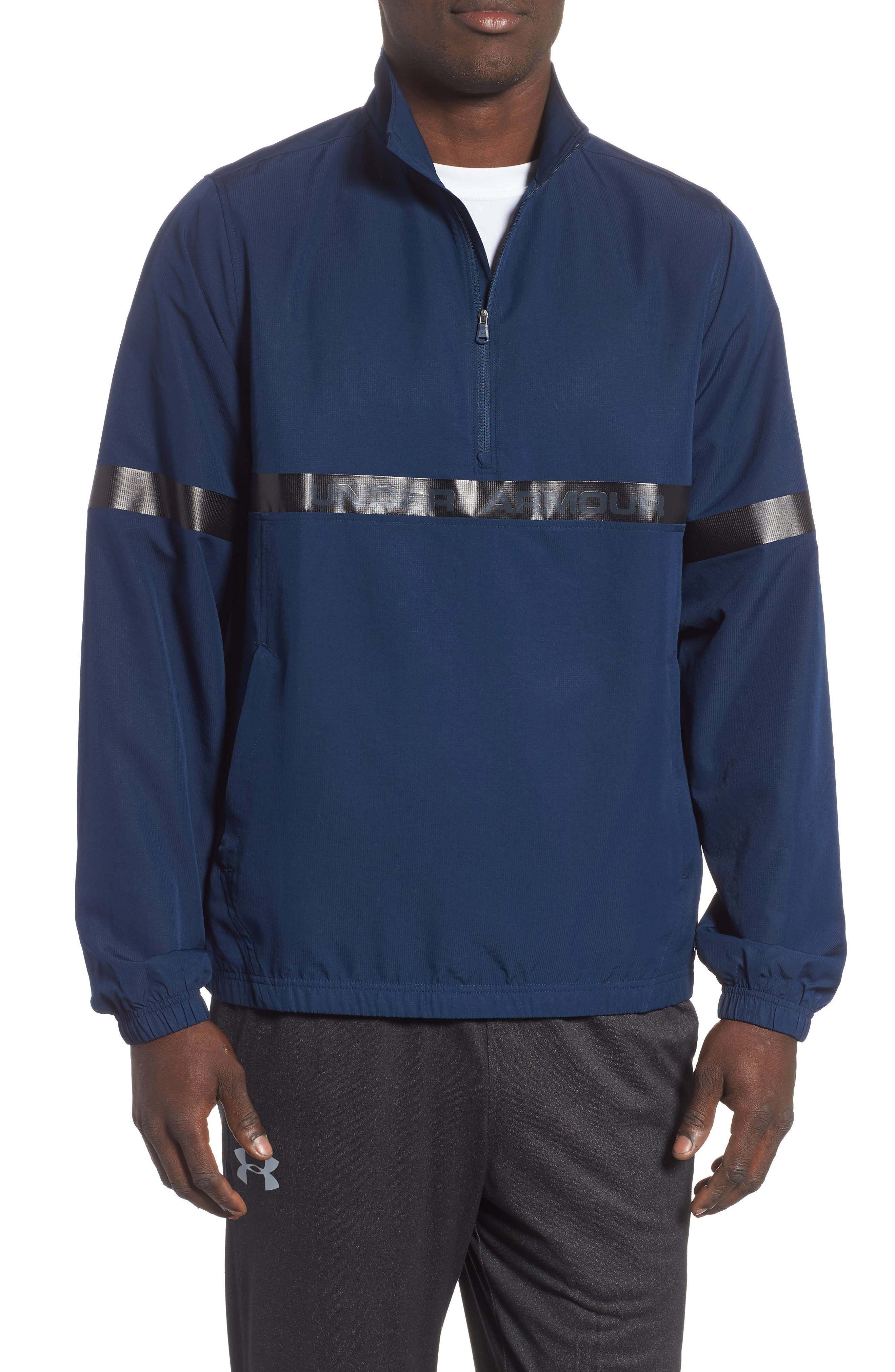 Under Armour Sportstyle Half Zip Pullover, Blue
